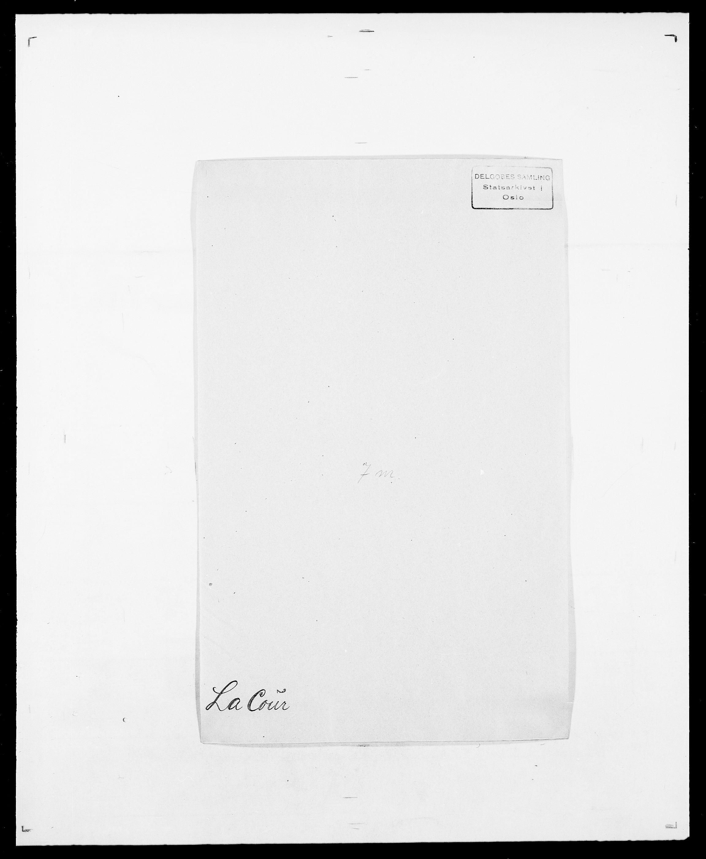 SAO, Delgobe, Charles Antoine - samling, D/Da/L0022: Krog - Lasteen, s. 371