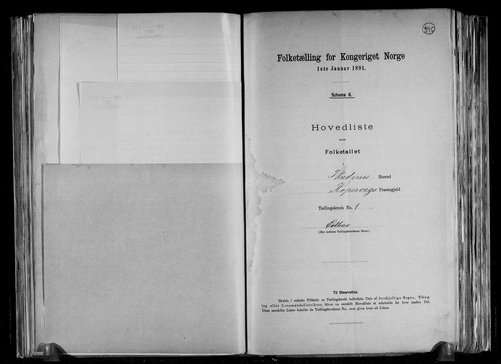 RA, Folketelling 1891 for 1150 Skudenes herred, 1891, s. 9