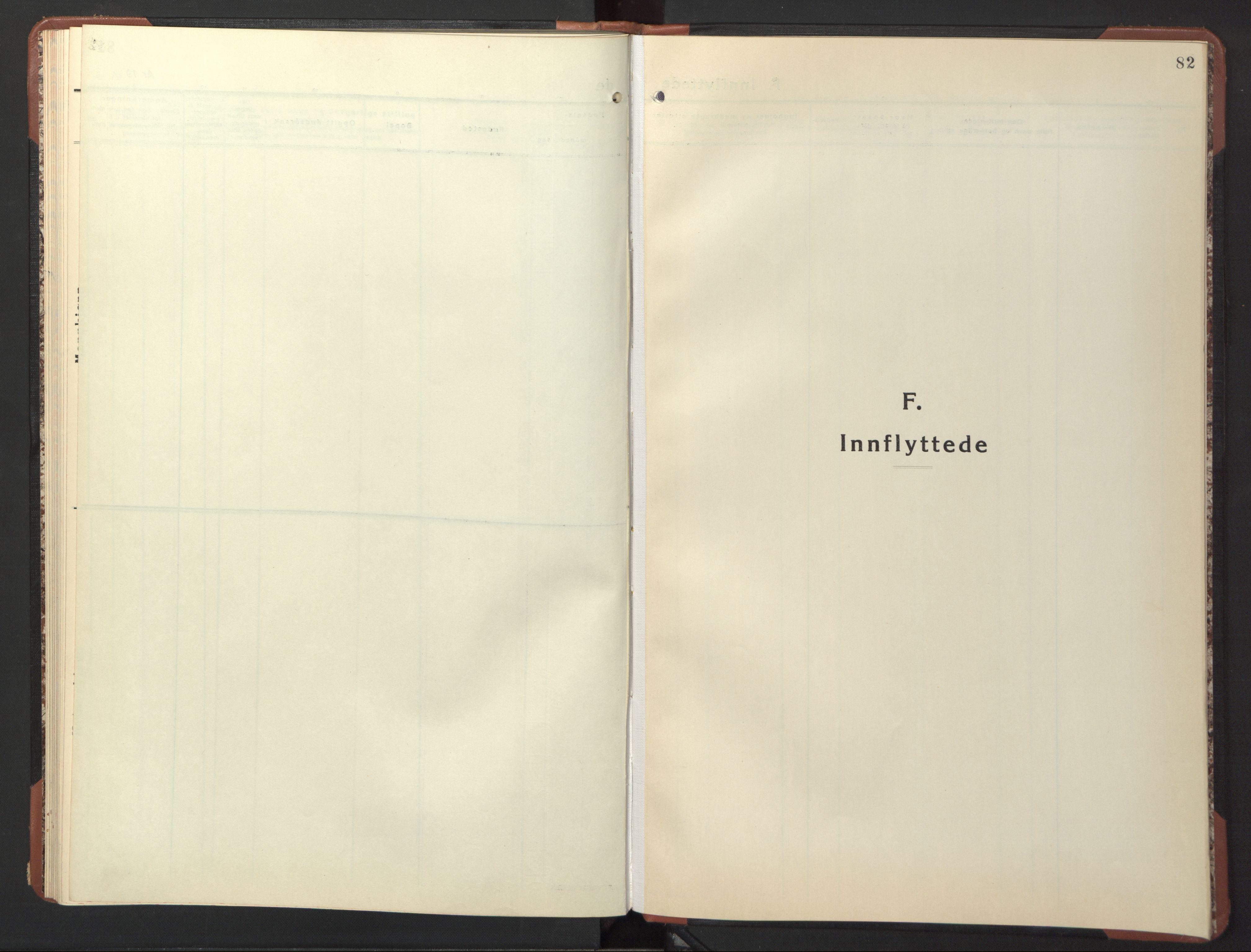 SAT, Ministerialprotokoller, klokkerbøker og fødselsregistre - Sør-Trøndelag, 617/L0433: Klokkerbok nr. 617C04, 1942-1947, s. 82