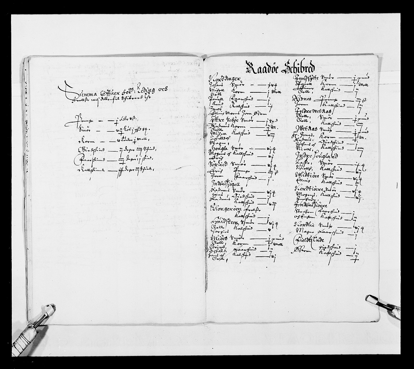 RA, Stattholderembetet 1572-1771, Ek/L0025: Jordebøker 1633-1658:, 1645-1646, s. 88