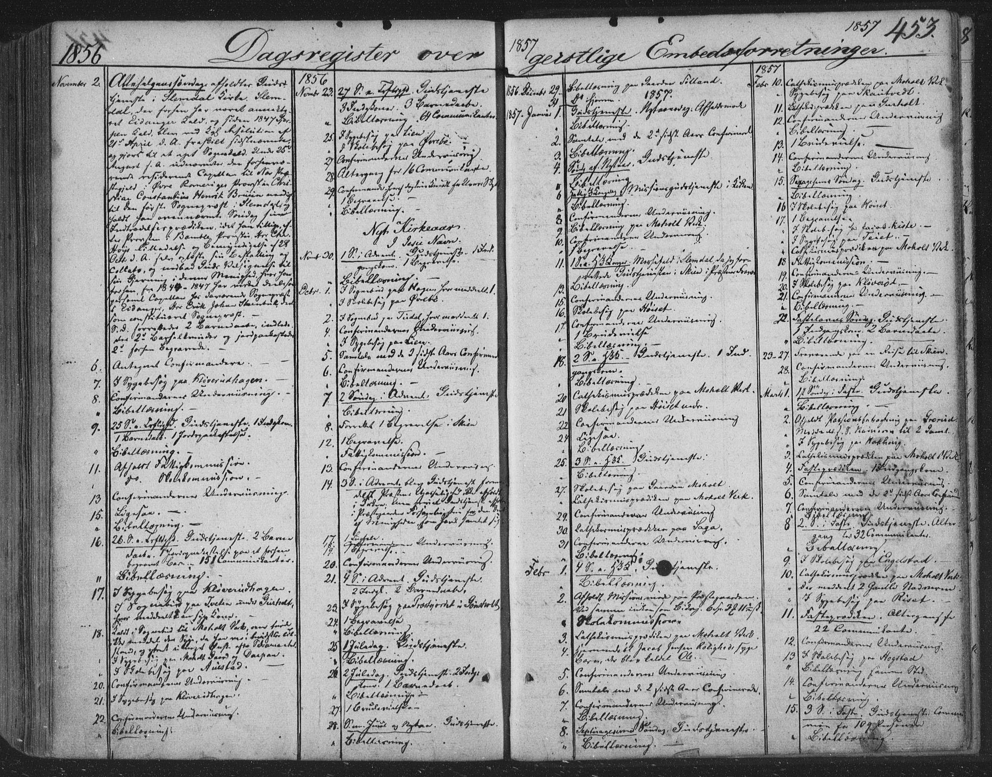 SAKO, Siljan kirkebøker, F/Fa/L0001: Ministerialbok nr. 1, 1831-1870, s. 453