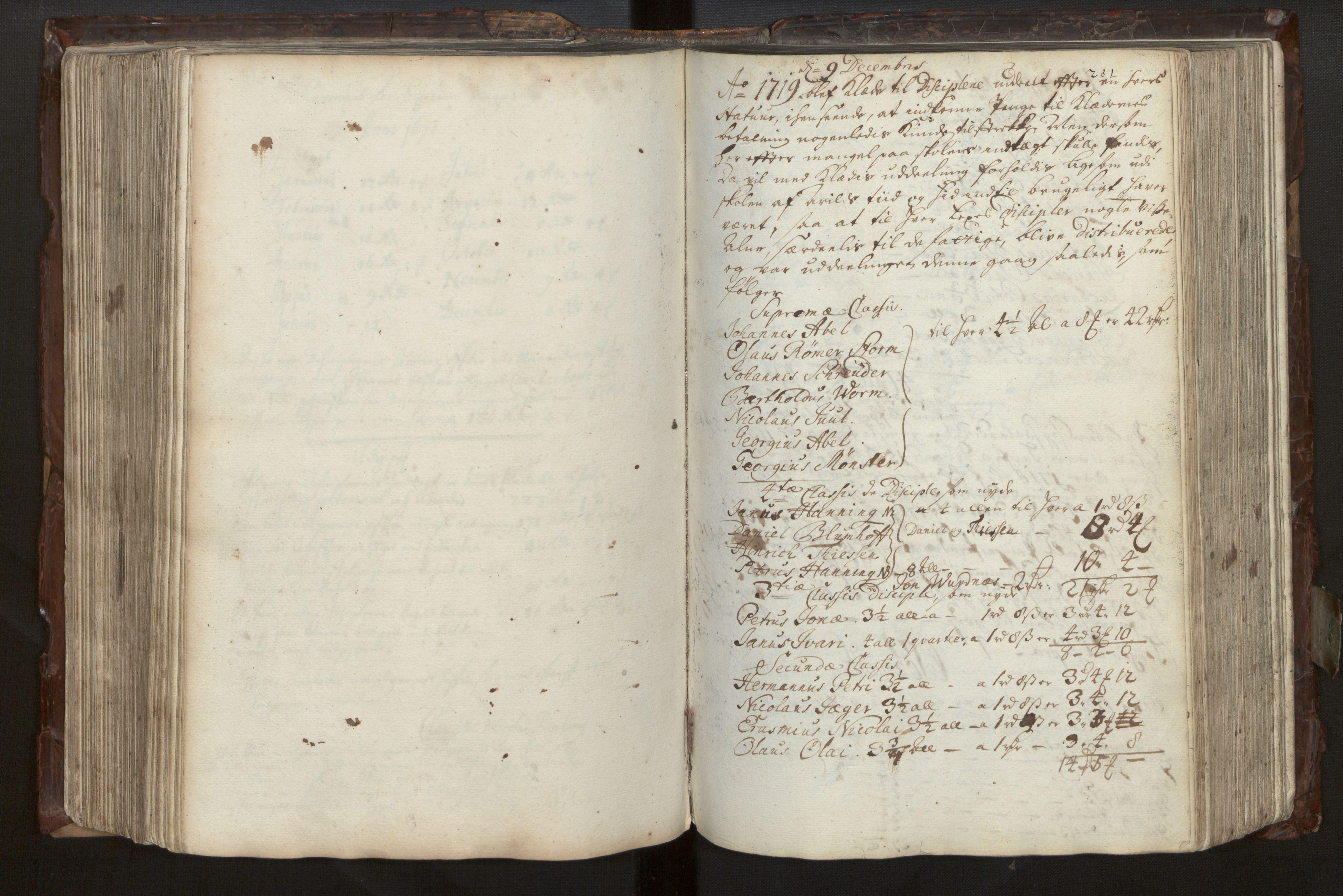 SAB, Bjørgvin biskop, Ga/L0014: Jordebøker for geistleg gods og andre rekneskapsprotokollar, 1609-1737, s. 280b-281a