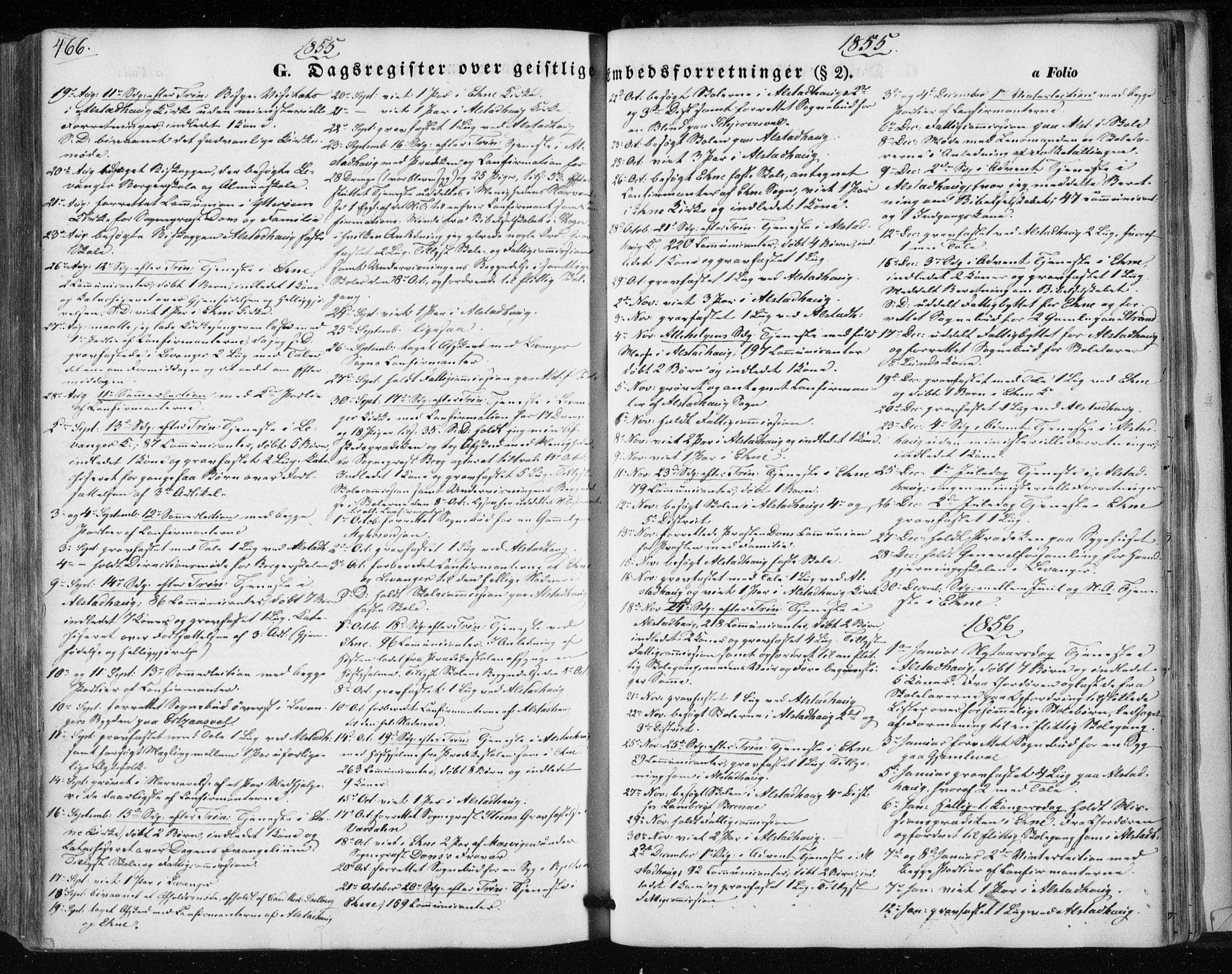 SAT, Ministerialprotokoller, klokkerbøker og fødselsregistre - Nord-Trøndelag, 717/L0154: Ministerialbok nr. 717A07 /1, 1850-1862, s. 466