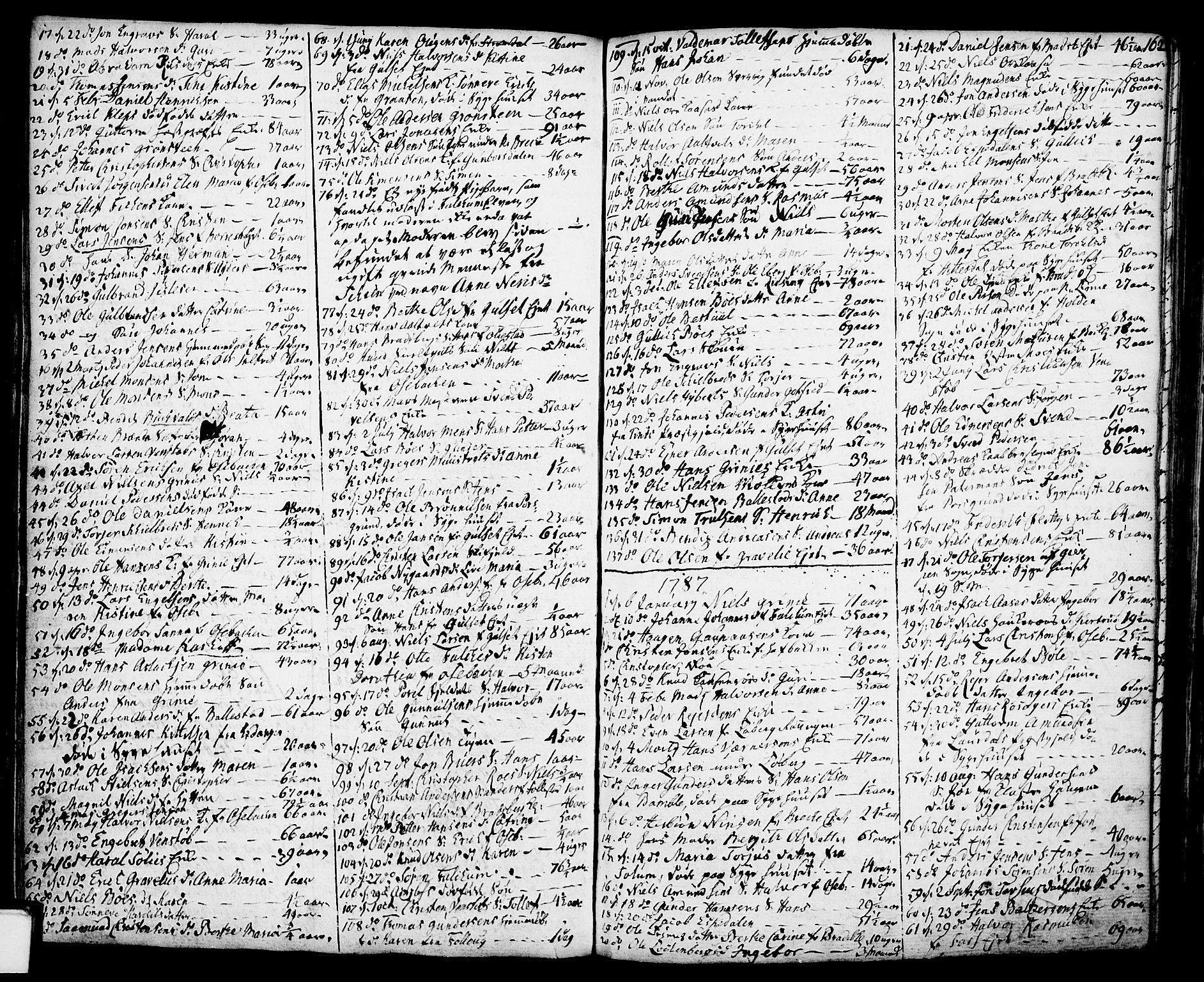SAKO, Gjerpen kirkebøker, F/Fa/L0002: Ministerialbok nr. 2, 1747-1795, s. 162