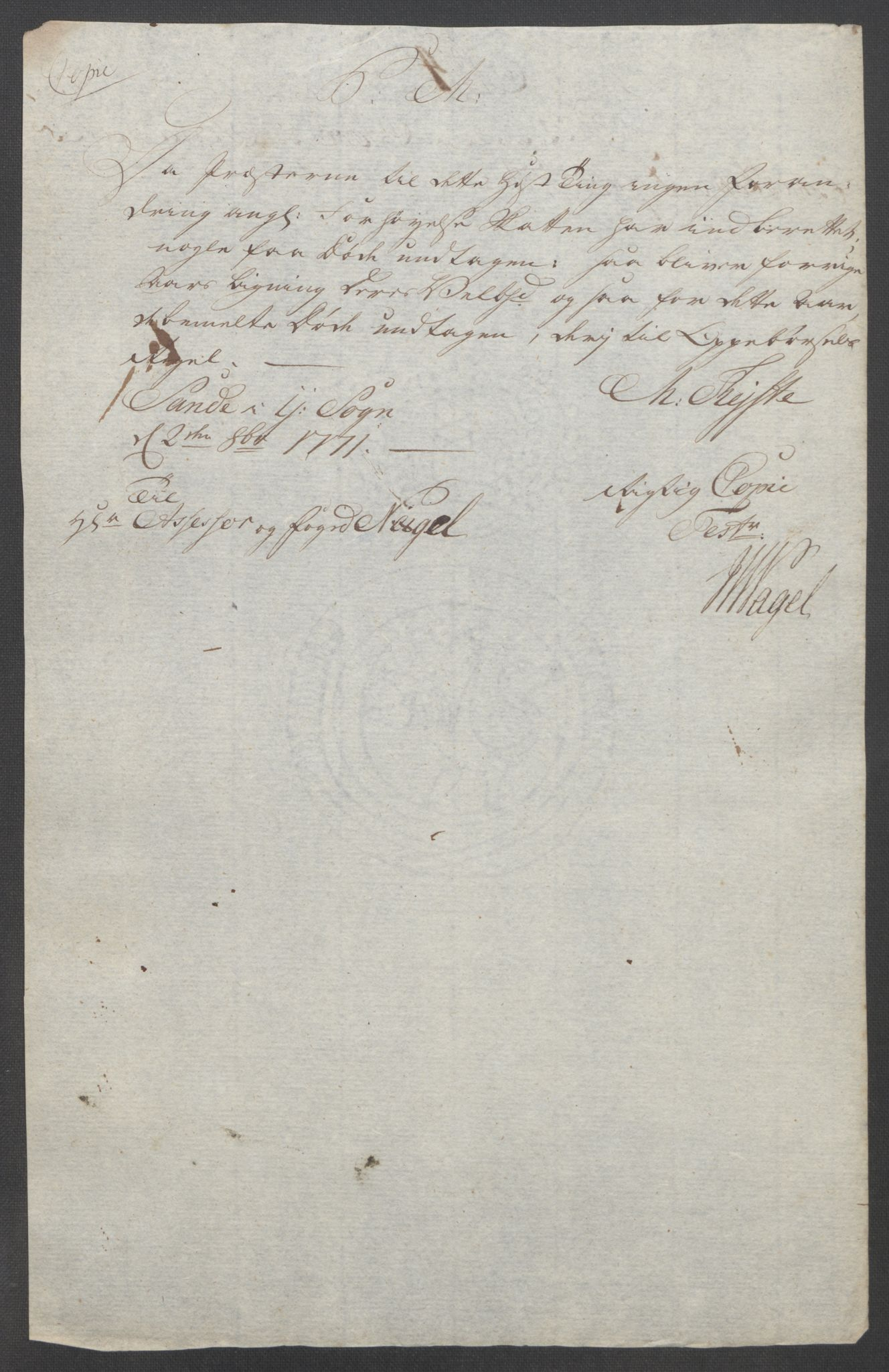RA, Rentekammeret inntil 1814, Reviderte regnskaper, Fogderegnskap, R53/L3550: Ekstraskatten Sunn- og Nordfjord, 1762-1771, s. 354