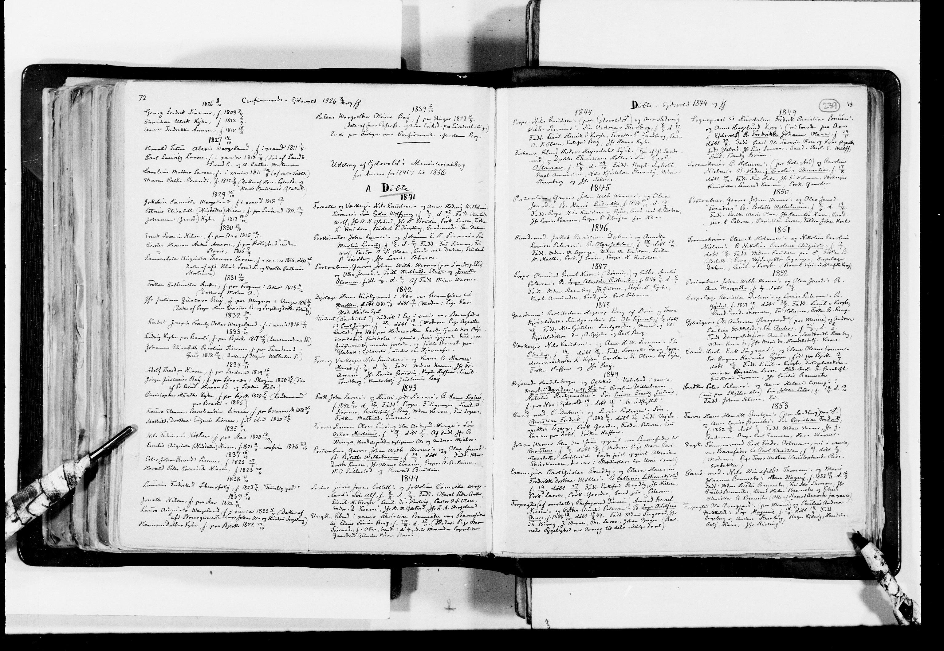 RA, Lassens samlinger, F/Fc, s. 239