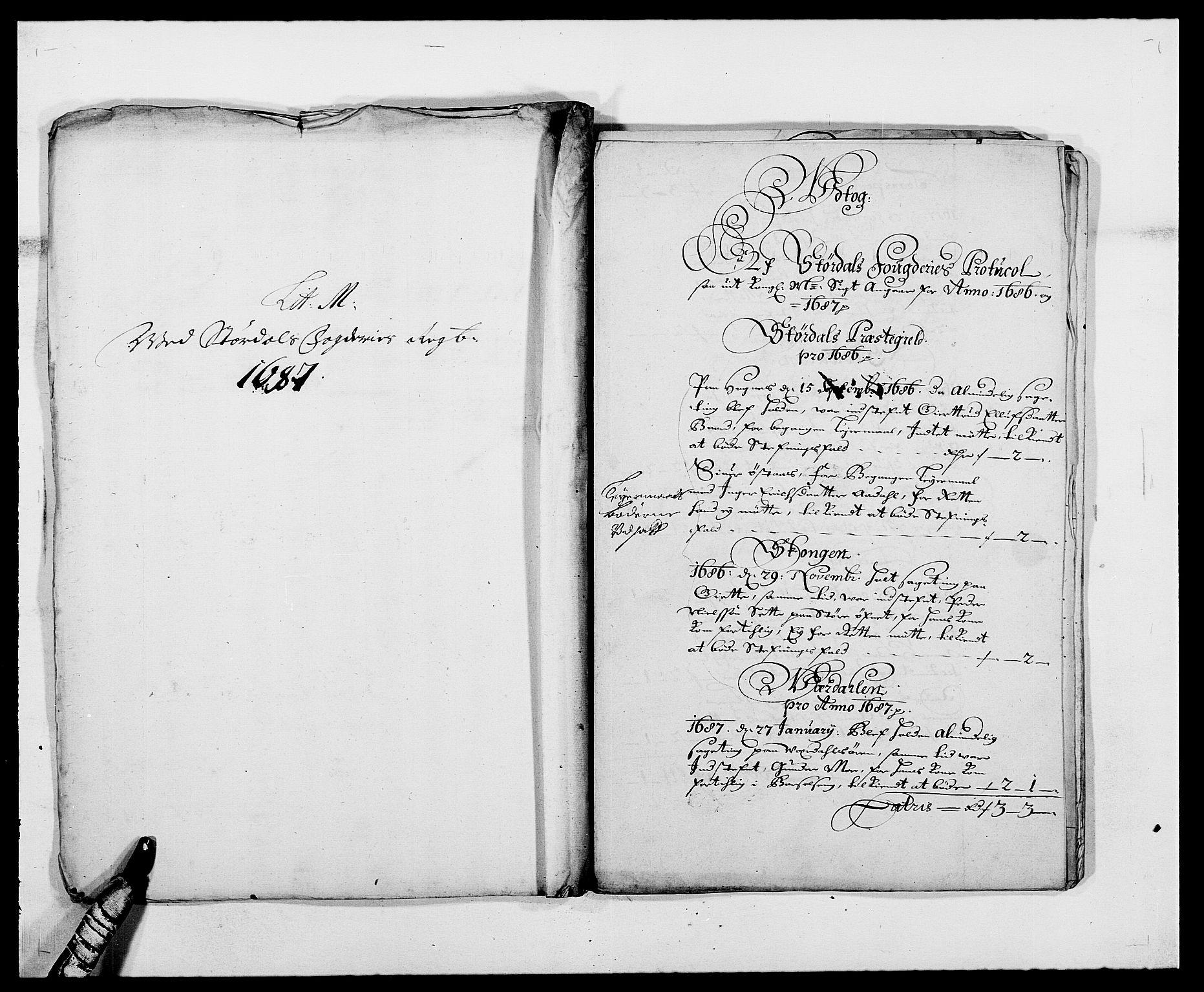 RA, Rentekammeret inntil 1814, Reviderte regnskaper, Fogderegnskap, R62/L4183: Fogderegnskap Stjørdal og Verdal, 1687-1689, s. 96