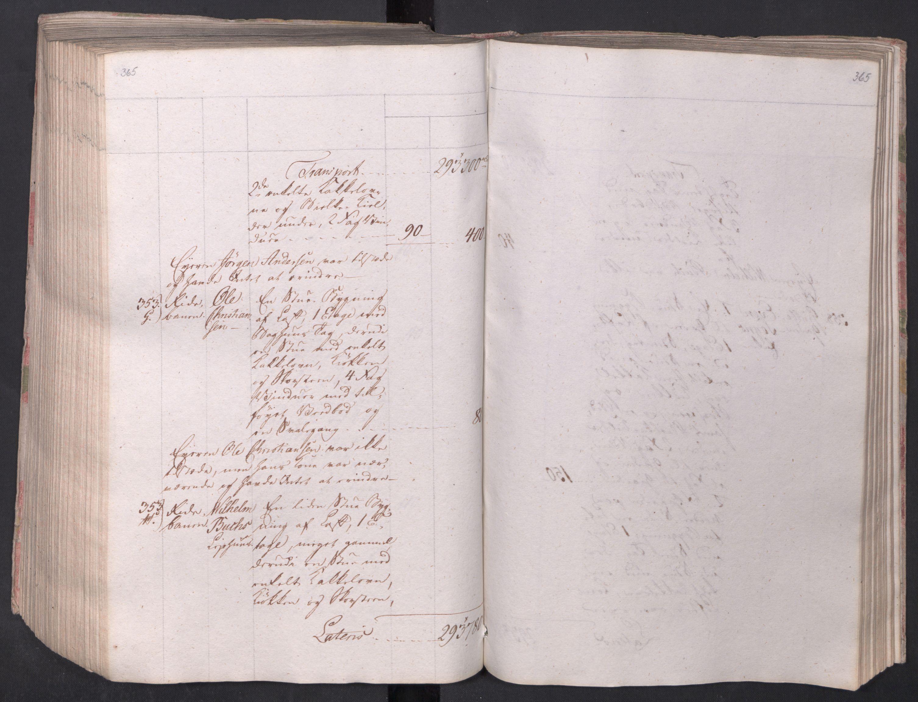 SAO, Kristiania stiftamt, I/Ia/L0015: Branntakster, 1797, s. 365