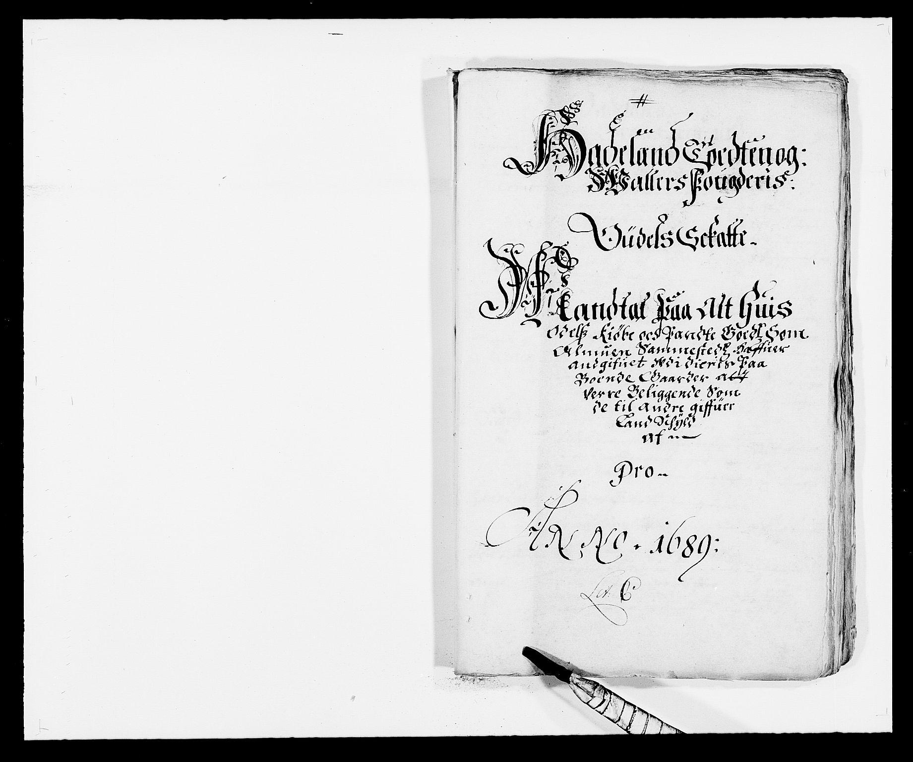 RA, Rentekammeret inntil 1814, Reviderte regnskaper, Fogderegnskap, R18/L1288: Fogderegnskap Hadeland, Toten og Valdres, 1689, s. 142