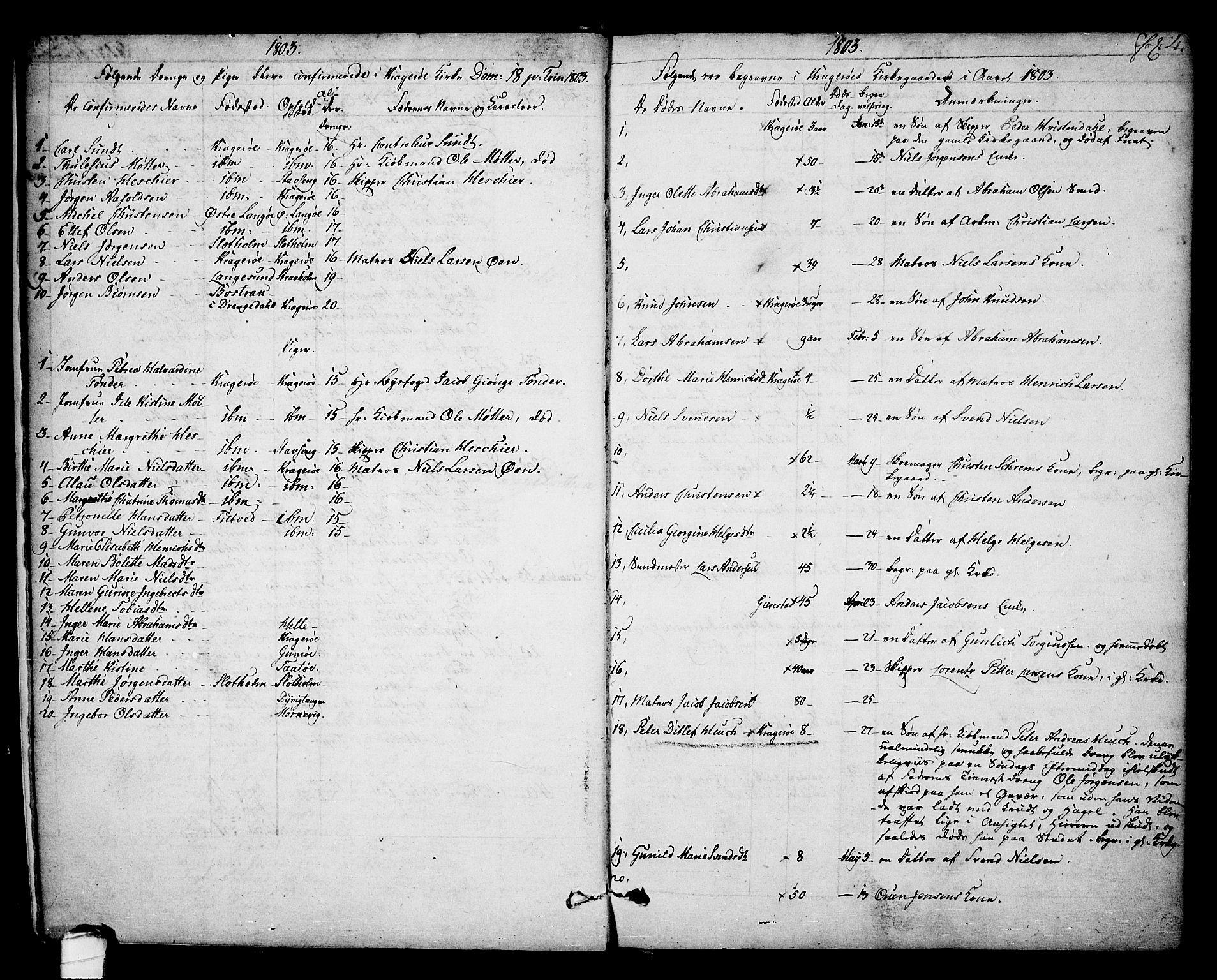 SAKO, Kragerø kirkebøker, F/Fa/L0003: Ministerialbok nr. 3, 1802-1813, s. 4