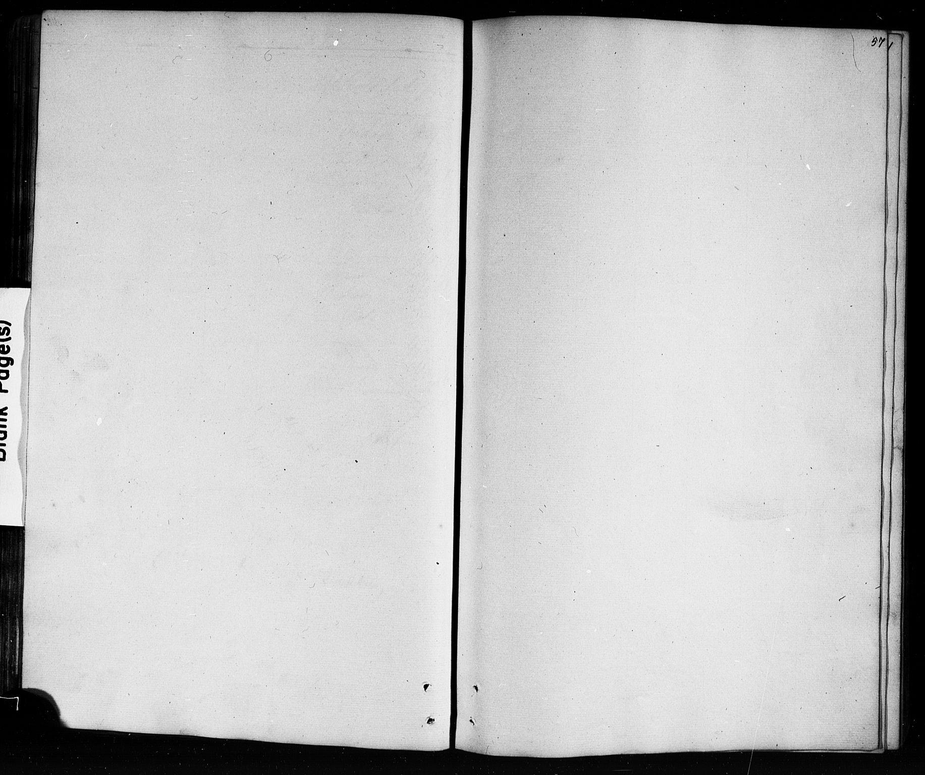SAKO, Mo kirkebøker, G/Ga/L0001: Klokkerbok nr. I 1, 1851-1891, s. 57