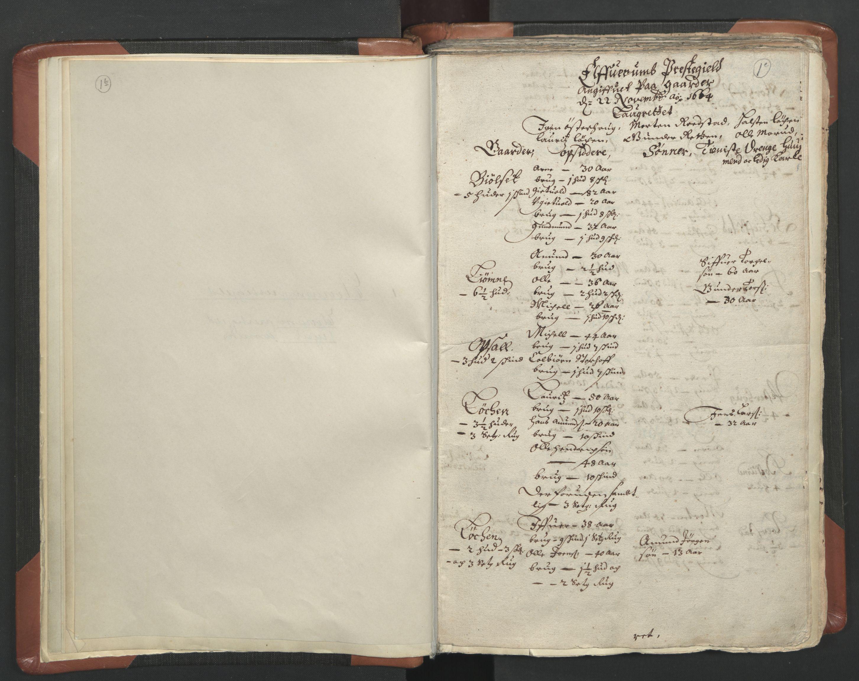 RA, Sogneprestenes manntall 1664-1666, nr. 5: Hedmark prosti, 1664-1666, s. 1b-1c