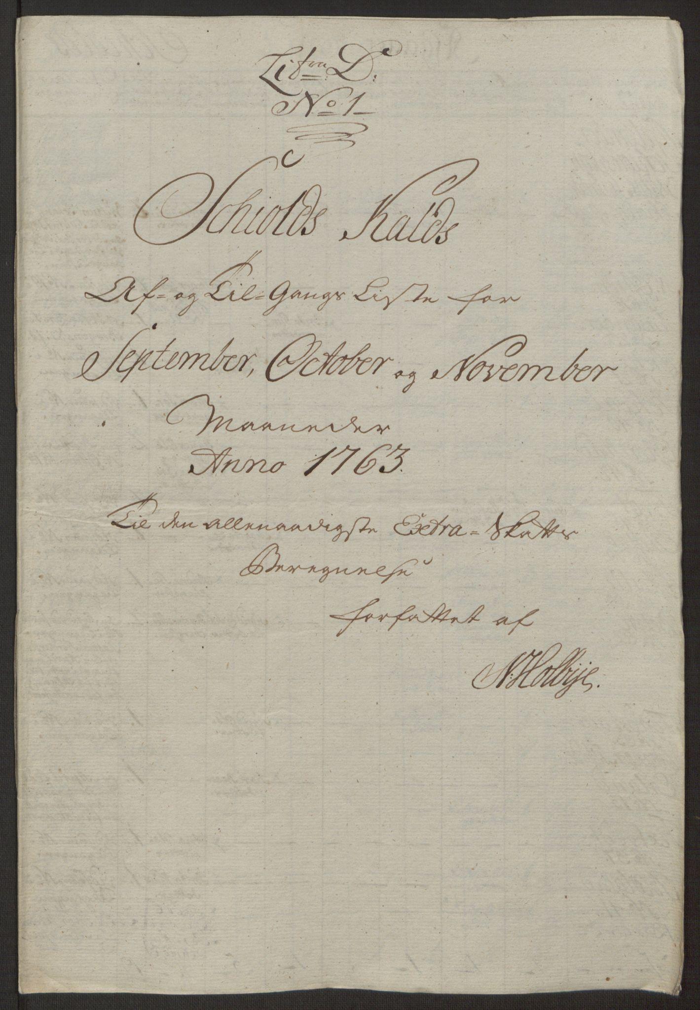 RA, Rentekammeret inntil 1814, Realistisk ordnet avdeling, Ol/L0016a: [Gg 10]: Ekstraskatten, 23.09.1762. Ryfylke, 1762-1768, s. 200