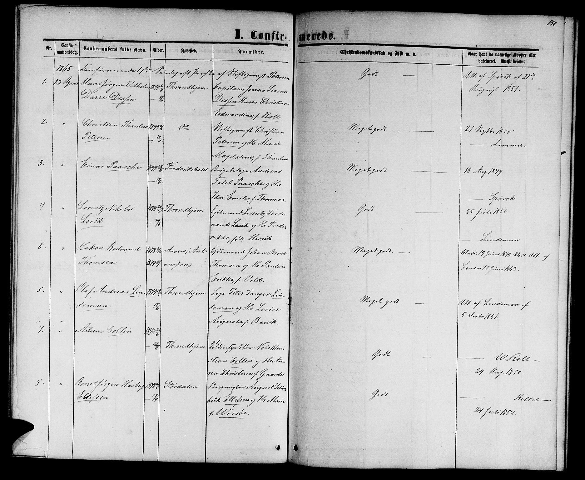 SAT, Ministerialprotokoller, klokkerbøker og fødselsregistre - Sør-Trøndelag, 601/L0087: Klokkerbok nr. 601C05, 1864-1881, s. 150
