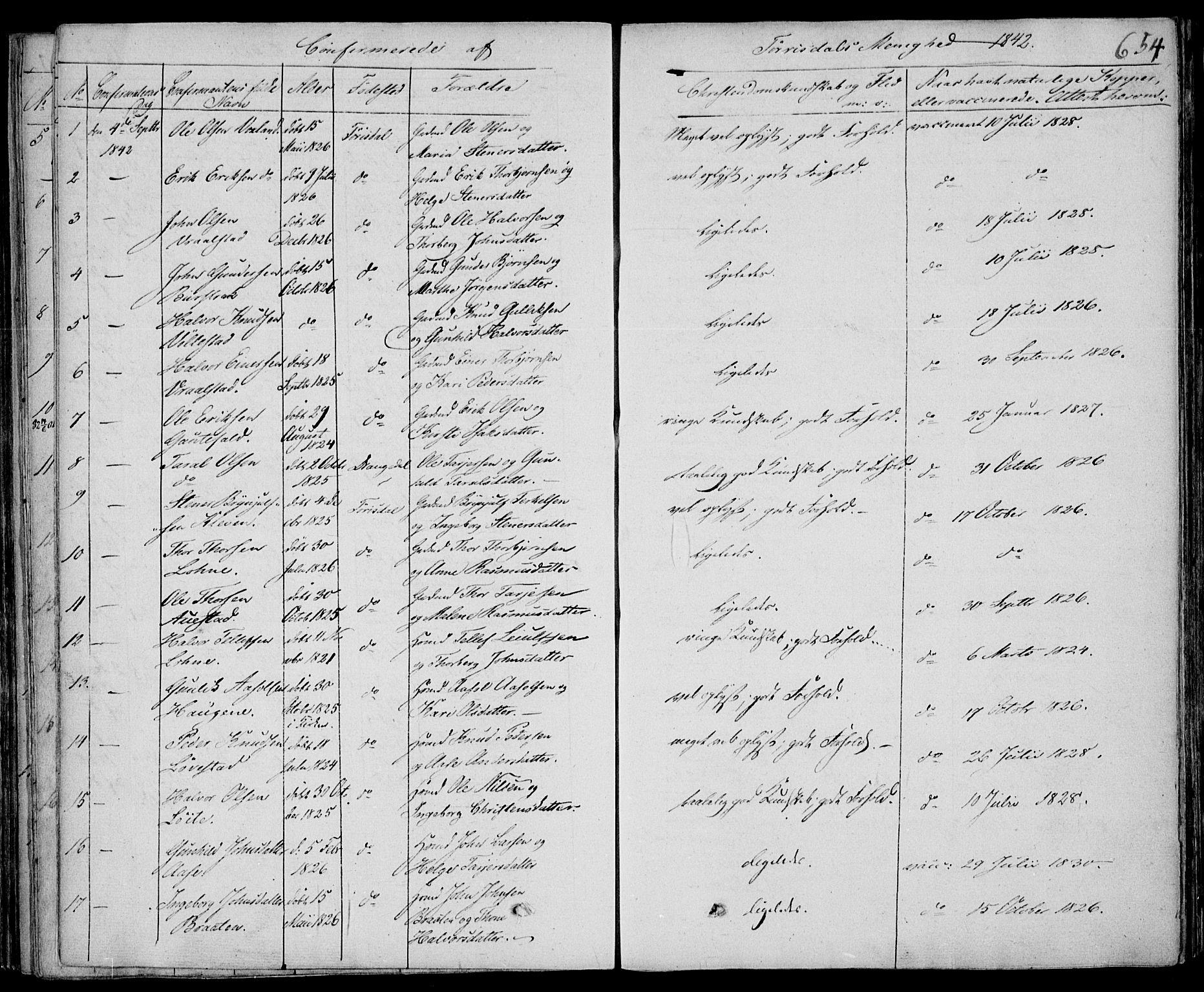 SAKO, Drangedal kirkebøker, F/Fa/L0007b: Ministerialbok nr. 7b, 1837-1856, s. 654