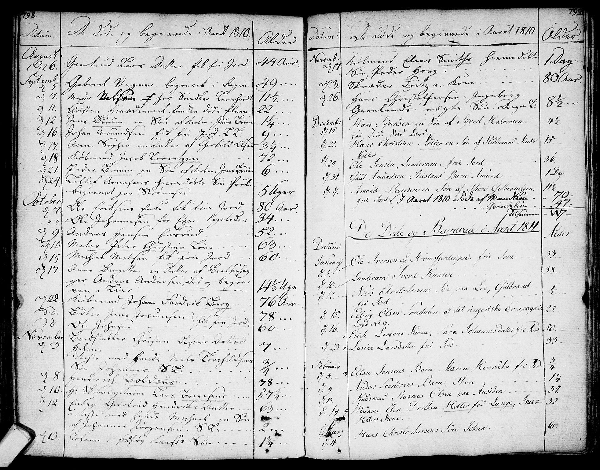 SAKO, Bragernes kirkebøker, F/Fa/L0006a: Ministerialbok nr. I 6, 1782-1814, s. 798-799