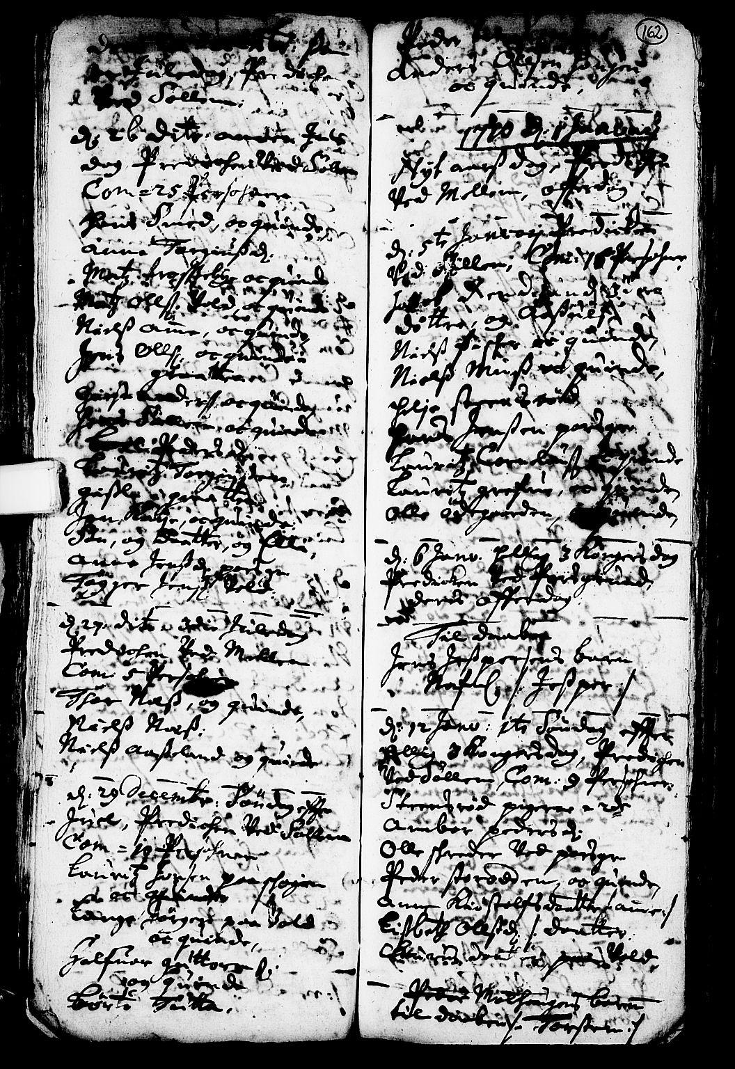 SAKO, Solum kirkebøker, F/Fa/L0001: Ministerialbok nr. I 1, 1701-1716, s. 162