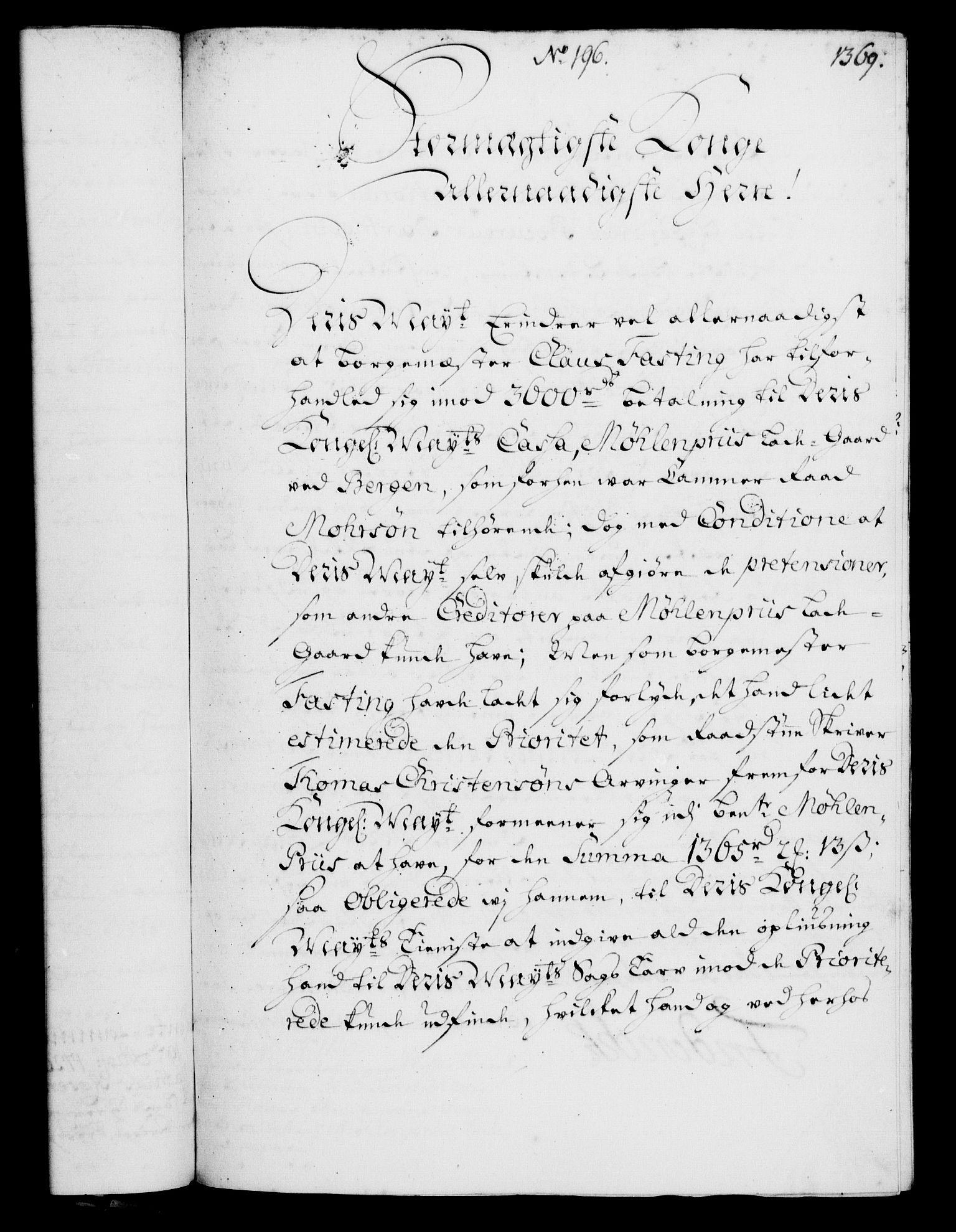 RA, Rentekammeret, Kammerkanselliet, G/Gf/Gfa/L0003: Norsk relasjons- og resolusjonsprotokoll (merket RK 52.3), 1720, s. 343