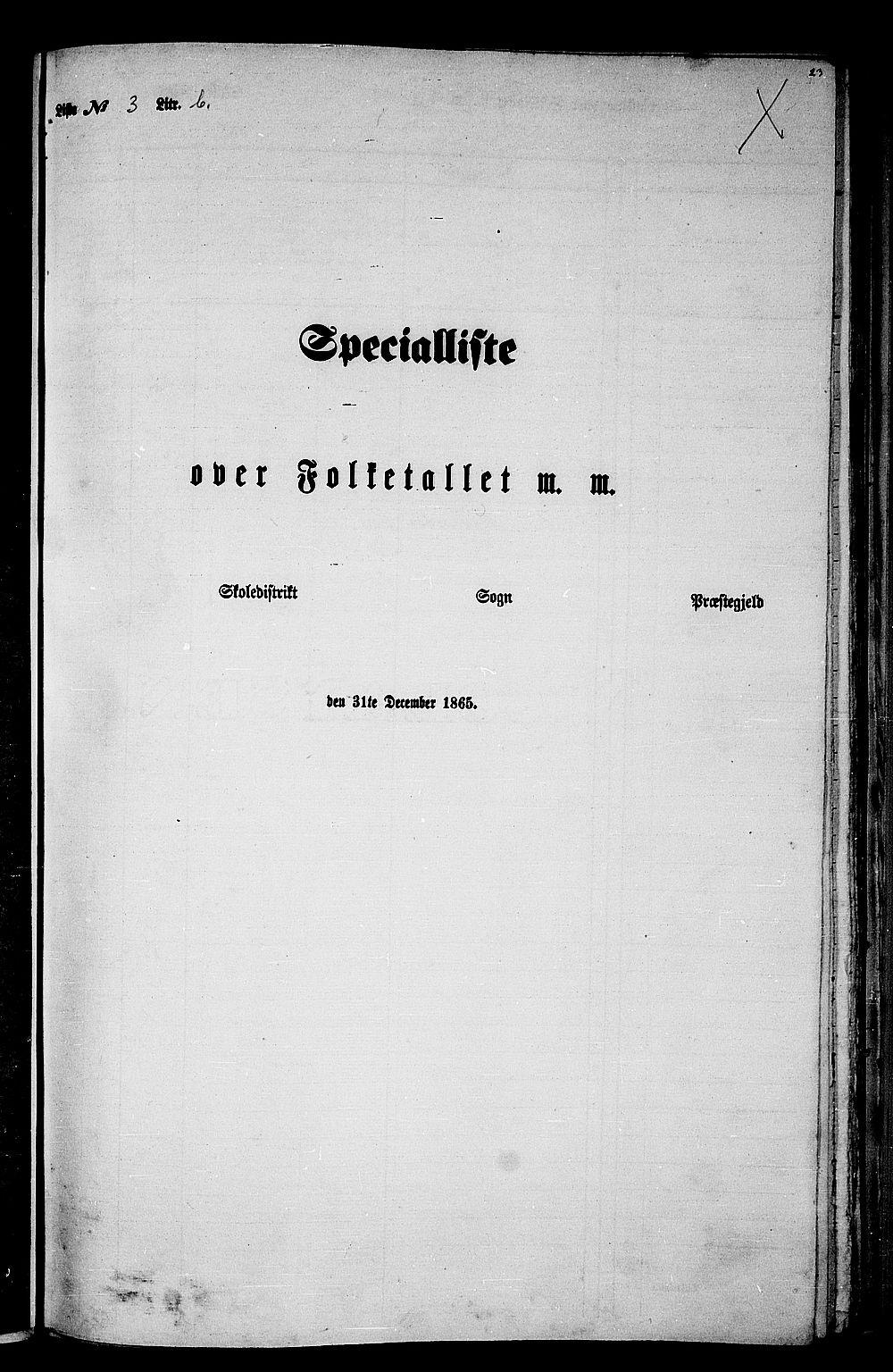 RA, Folketelling 1865 for 1569P Aure prestegjeld, 1865, s. 66