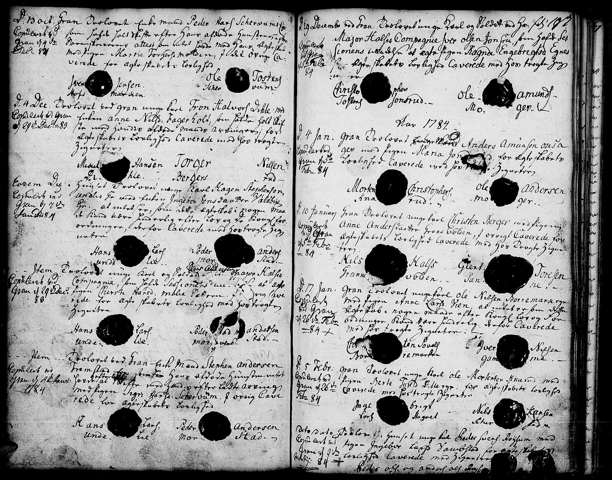 SAH, Gran prestekontor, Ministerialbok nr. 5, 1776-1788, s. 197