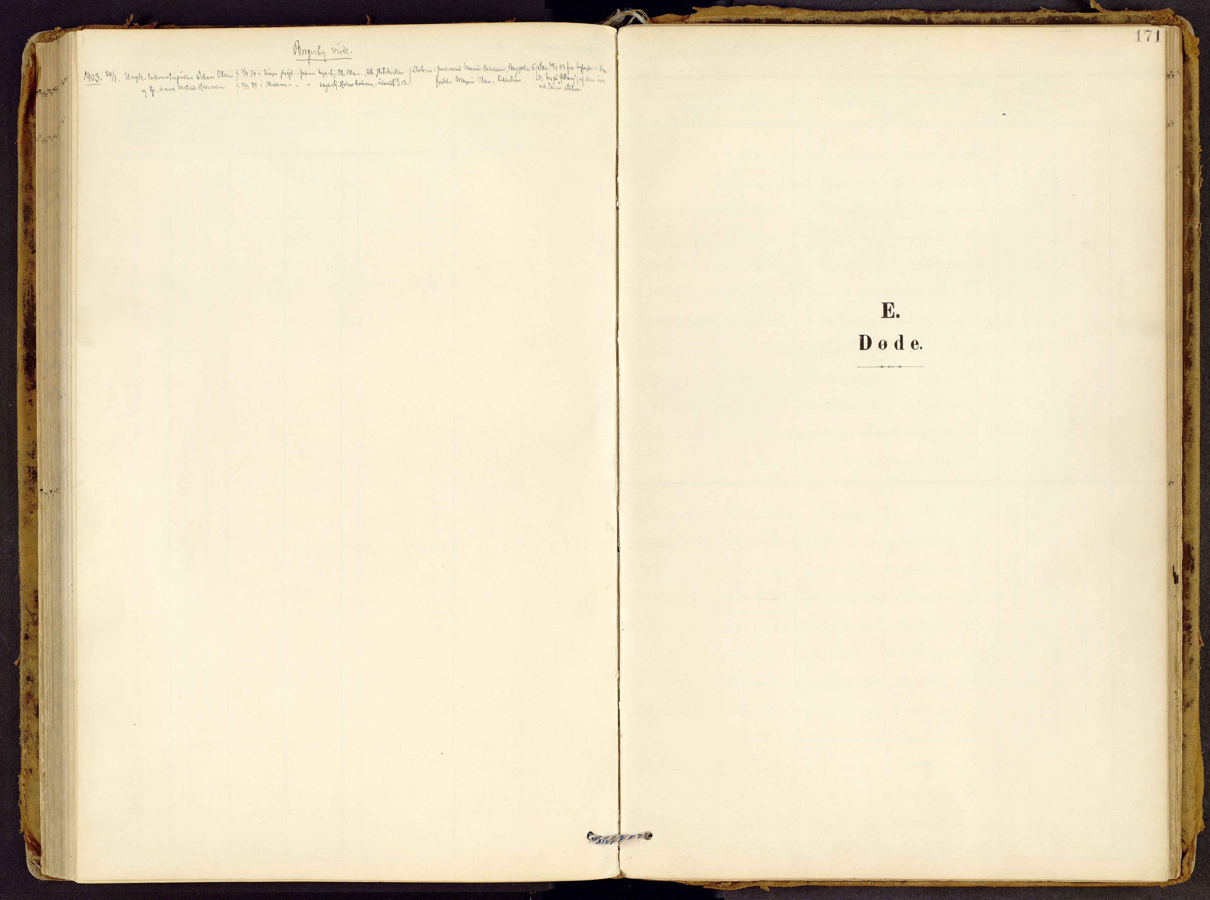 SAH, Brandbu prestekontor, Ministerialbok nr. 2, 1899-1914, s. 171