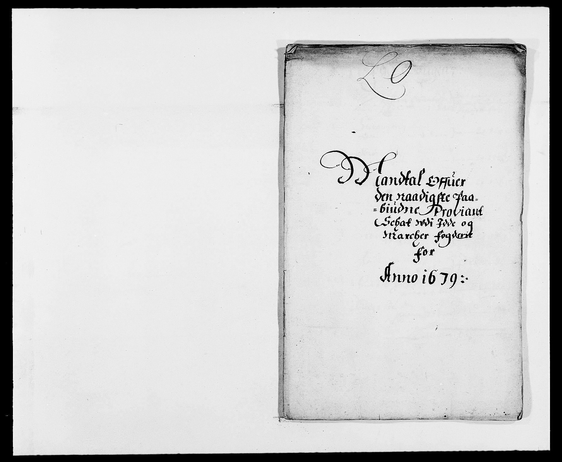 RA, Rentekammeret inntil 1814, Reviderte regnskaper, Fogderegnskap, R01/L0001: Fogderegnskap Idd og Marker, 1678-1679, s. 360