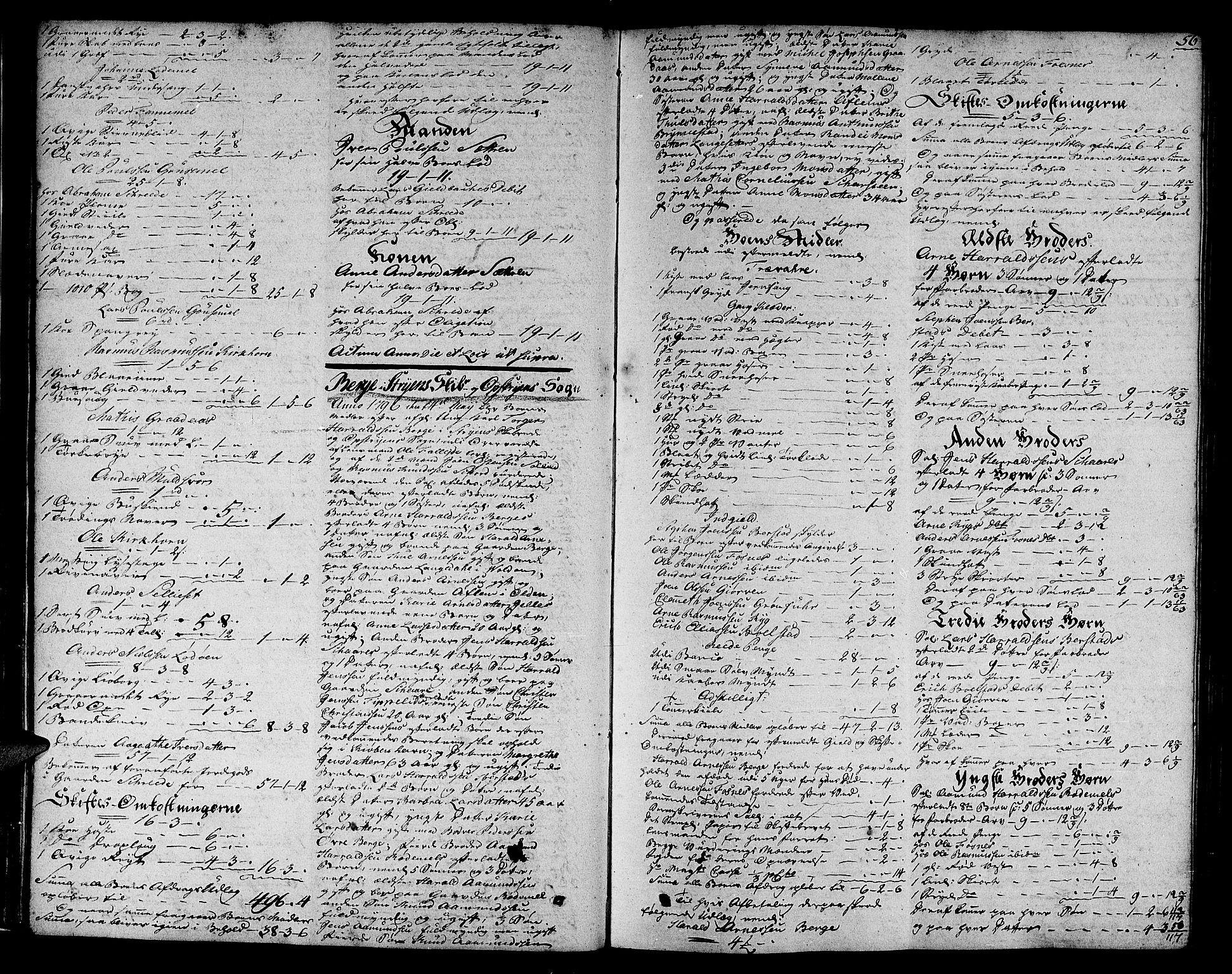 SAB, Nordfjord Sorenskriveri, 04/04a/L0020a: Skifteprotokollar, 1795-1799, s. 55b-56a