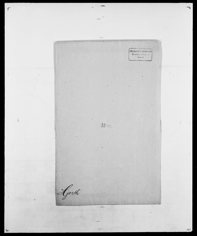 SAO, Delgobe, Charles Antoine - samling, D/Da/L0017: Helander - Hjørne, s. 611