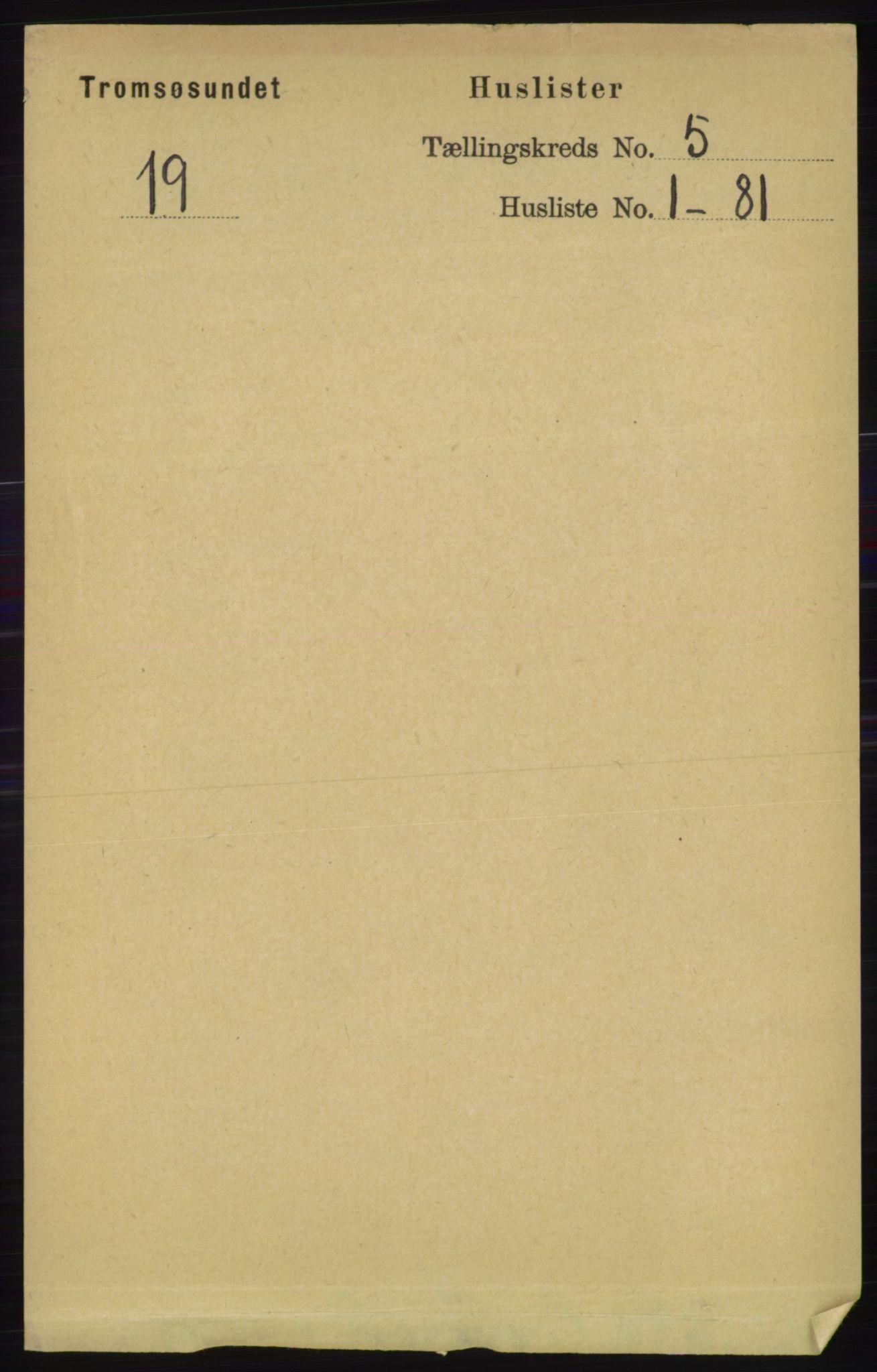 RA, Folketelling 1891 for 1934 Tromsøysund herred, 1891, s. 2241
