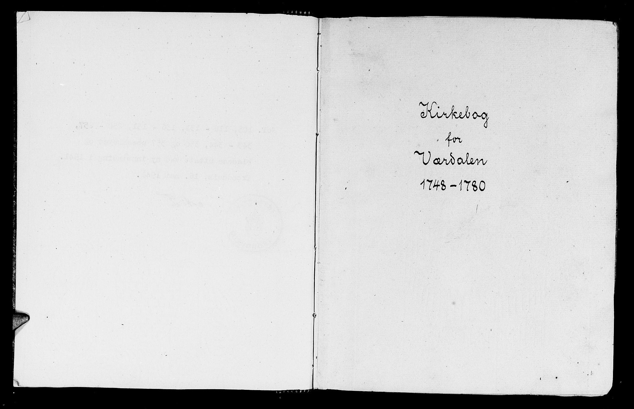 SAT, Ministerialprotokoller, klokkerbøker og fødselsregistre - Nord-Trøndelag, 723/L0231: Ministerialbok nr. 723A02, 1748-1780