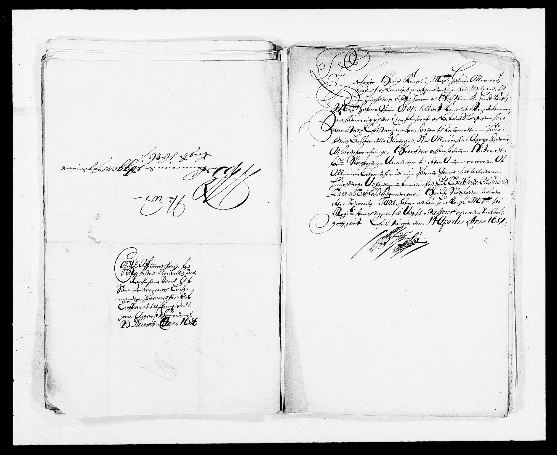 RA, Rentekammeret inntil 1814, Reviderte regnskaper, Fogderegnskap, R08/L0424: Fogderegnskap Aker, 1682-1689, s. 211