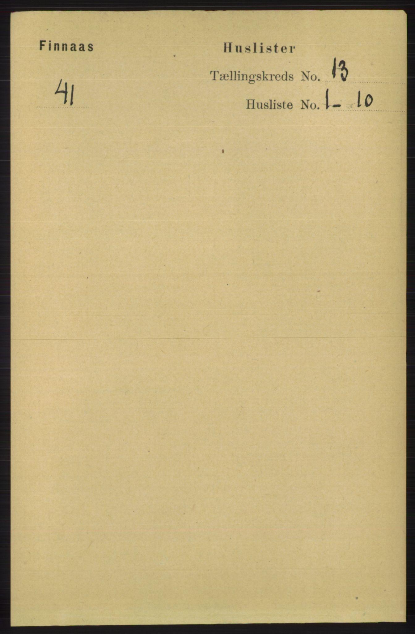 RA, Folketelling 1891 for 1218 Finnås herred, 1891, s. 5575