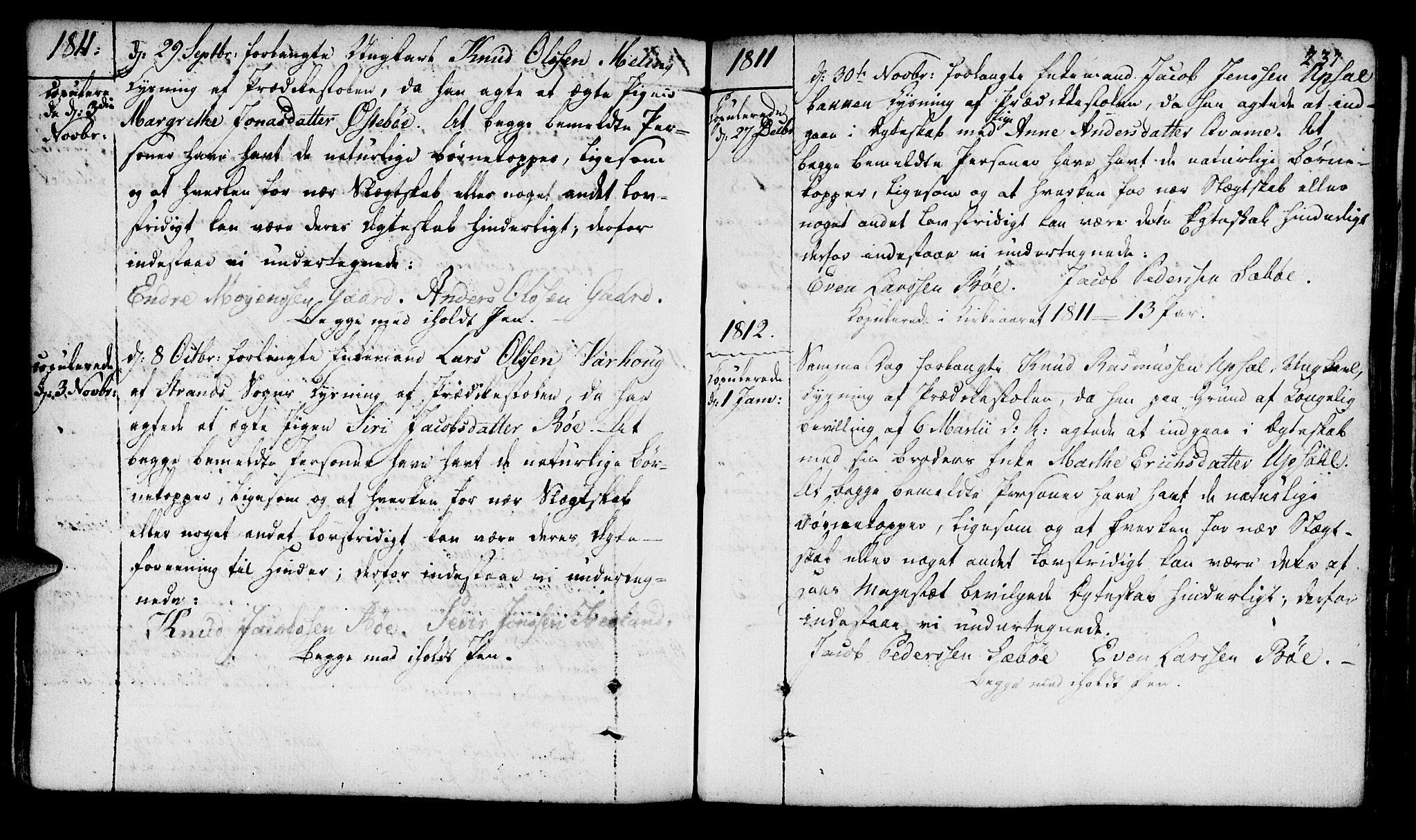 SAST, Finnøy sokneprestkontor, H/Ha/Haa/L0005: Ministerialbok nr. A 5, 1773-1816, s. 237