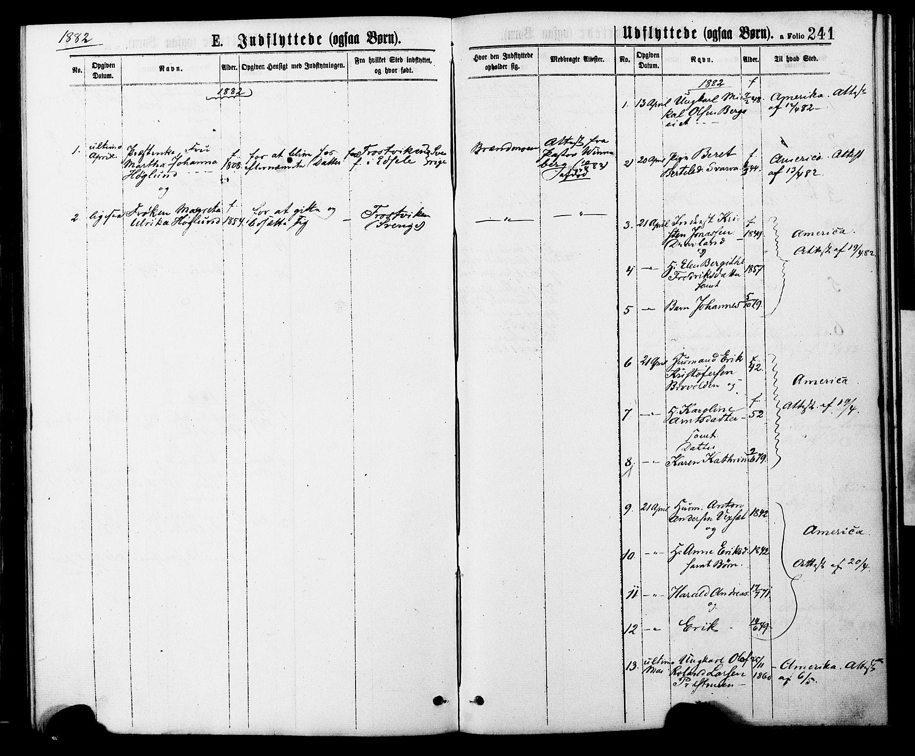 SAT, Ministerialprotokoller, klokkerbøker og fødselsregistre - Nord-Trøndelag, 749/L0473: Ministerialbok nr. 749A07, 1873-1887, s. 241