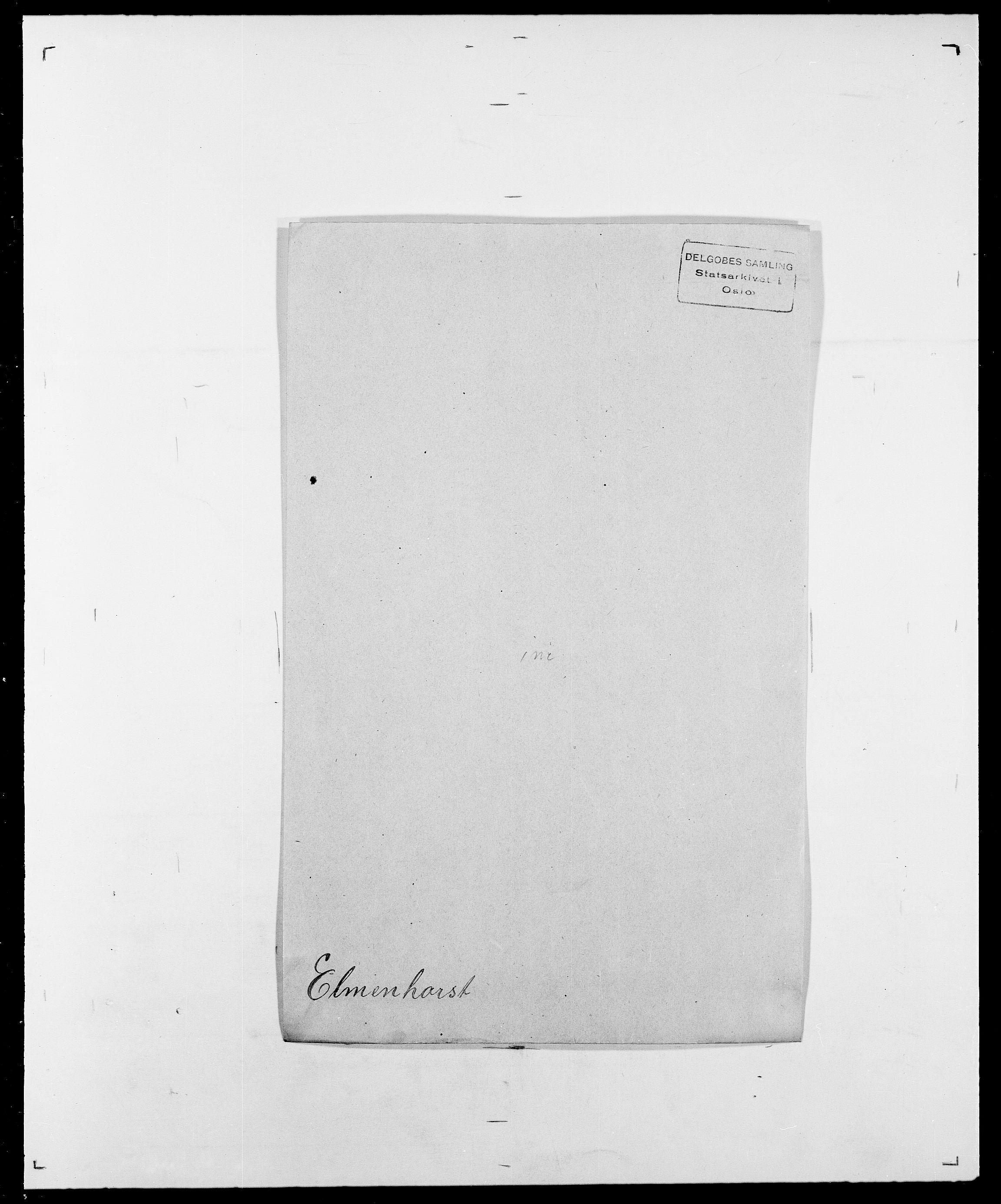 SAO, Delgobe, Charles Antoine - samling, D/Da/L0010: Dürendahl - Fagelund, s. 431