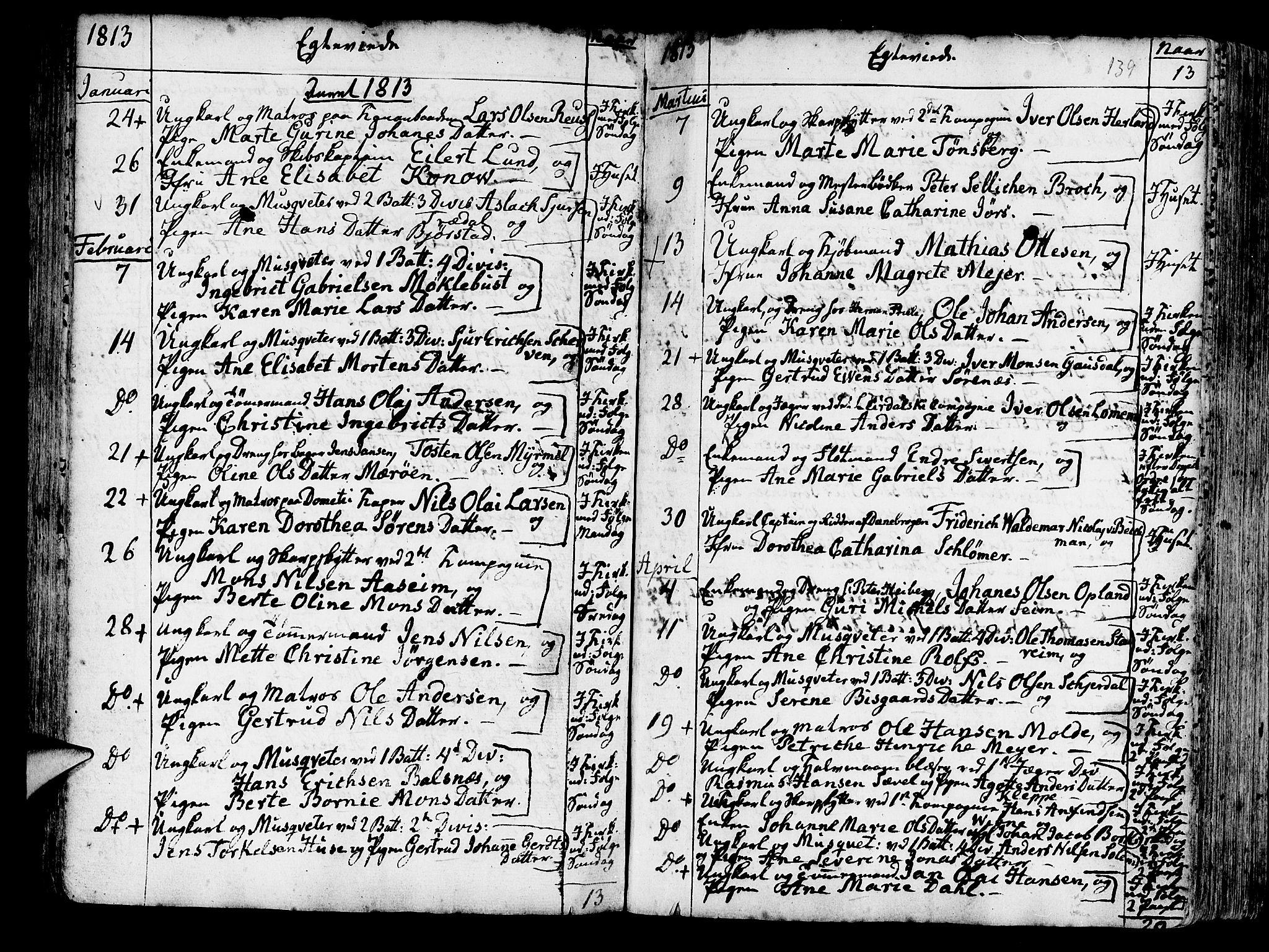 SAB, Korskirken Sokneprestembete, H/Haa/L0009: Ministerialbok nr. A 9, 1743-1861, s. 139
