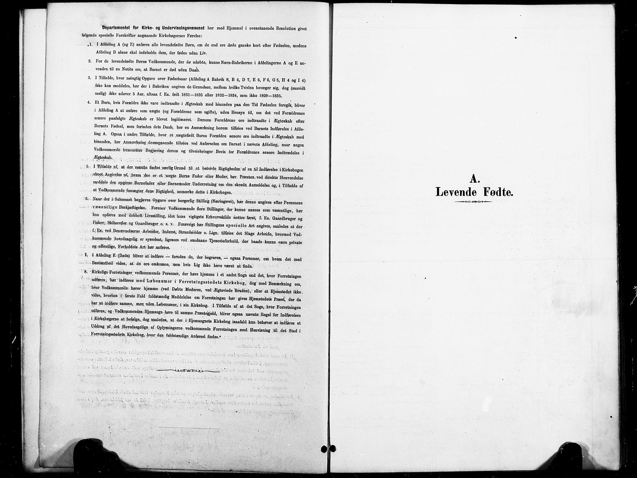 SAT, Ministerialprotokoller, klokkerbøker og fødselsregistre - Nord-Trøndelag, 738/L0364: Ministerialbok nr. 738A01, 1884-1902