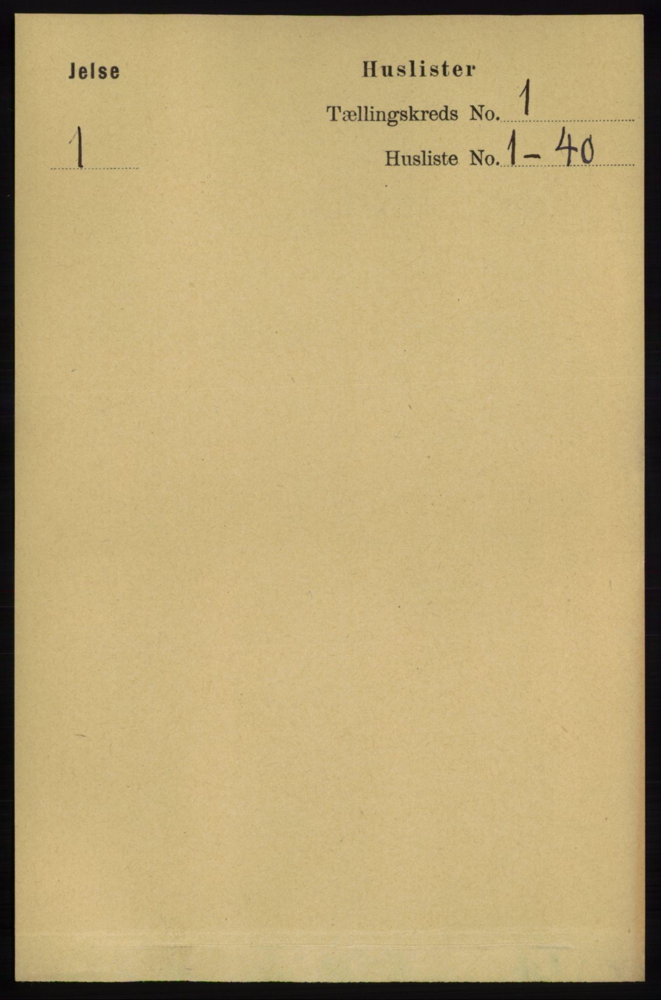RA, Folketelling 1891 for 1138 Jelsa herred, 1891, s. 29