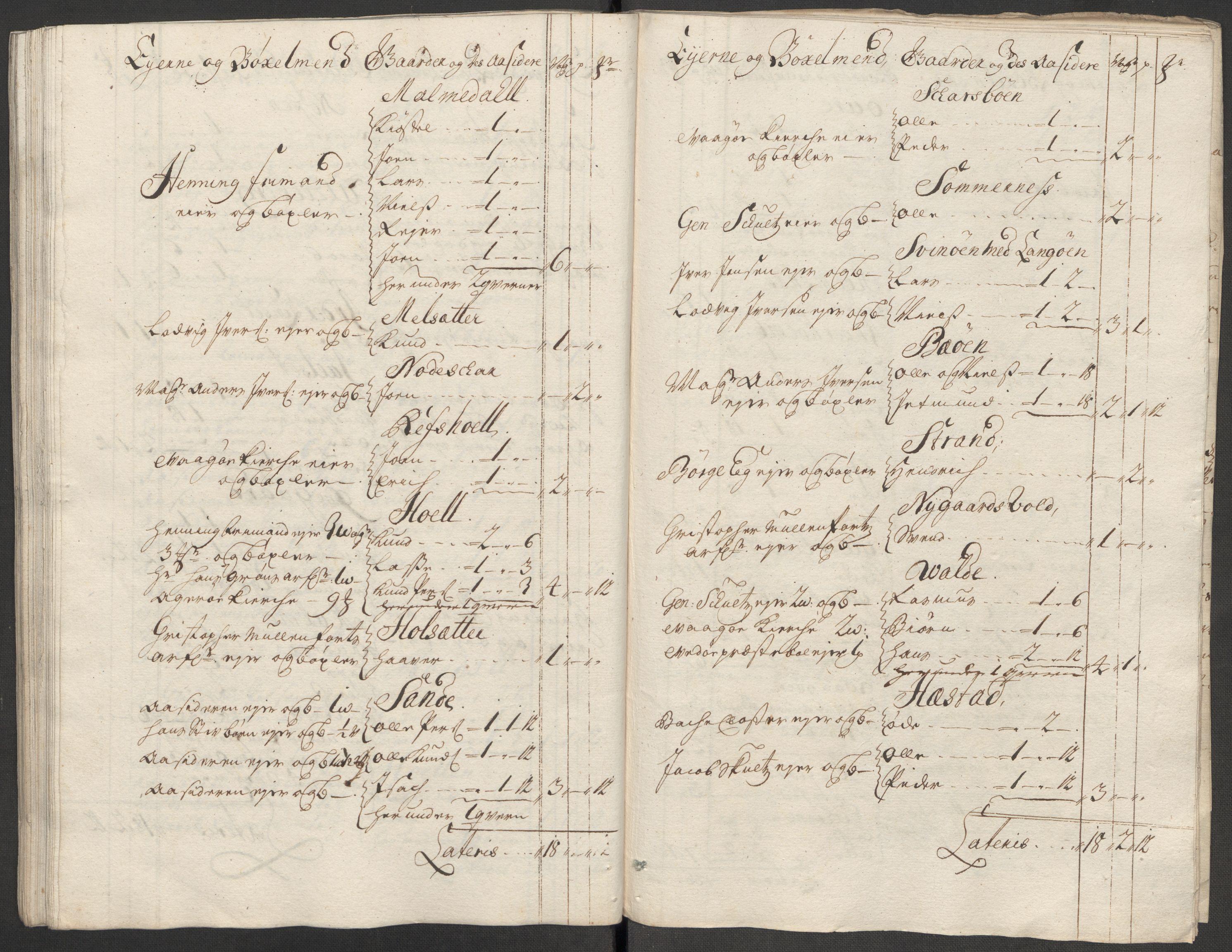 RA, Rentekammeret inntil 1814, Reviderte regnskaper, Fogderegnskap, R55/L3665: Fogderegnskap Romsdal, 1718, s. 69