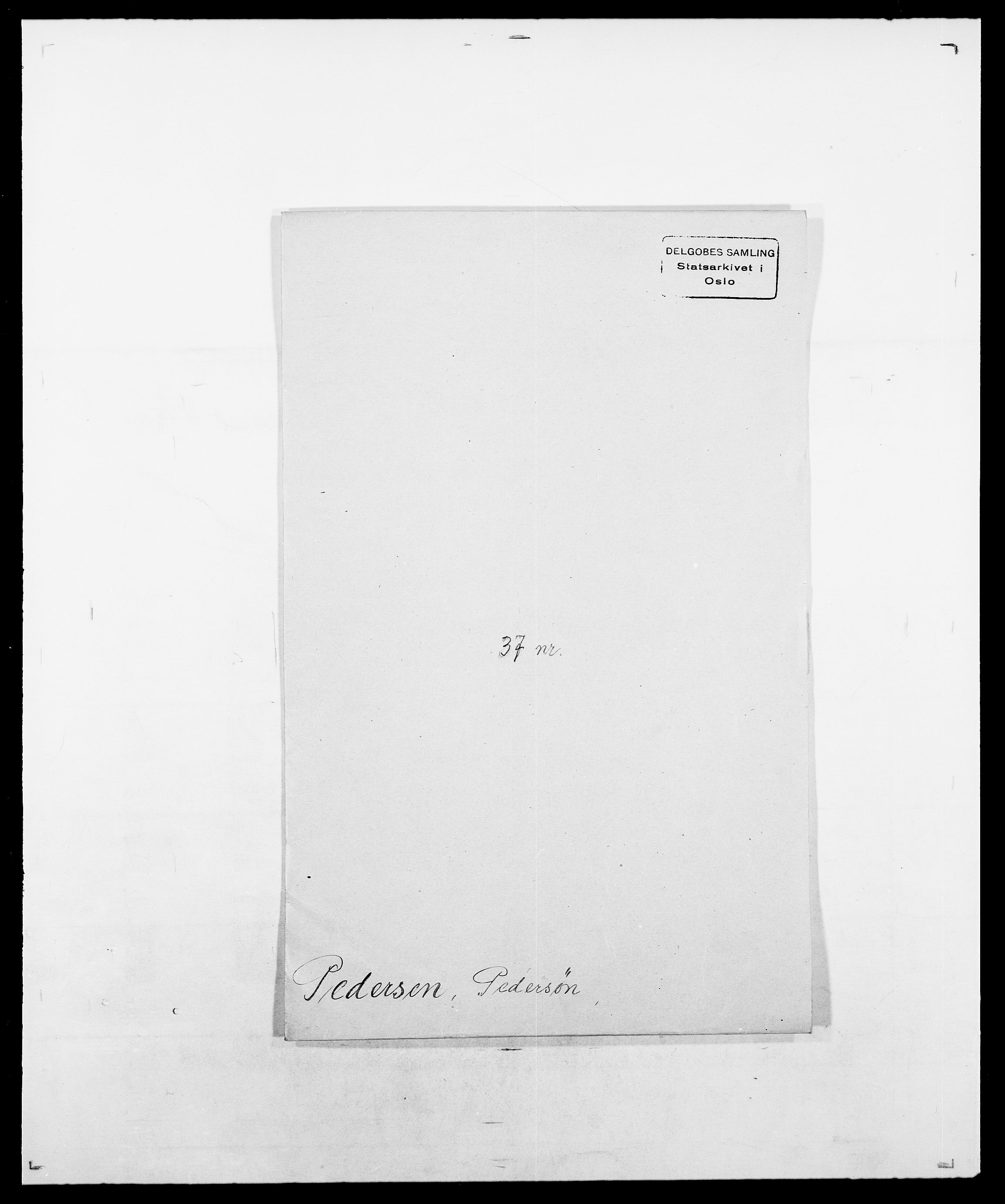 SAO, Delgobe, Charles Antoine - samling, D/Da/L0030: Paars - Pittelkov, s. 271
