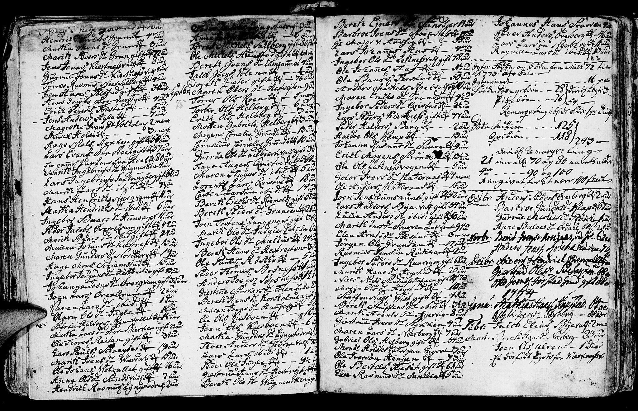SAT, Ministerialprotokoller, klokkerbøker og fødselsregistre - Nord-Trøndelag, 730/L0273: Ministerialbok nr. 730A02, 1762-1802, s. 182