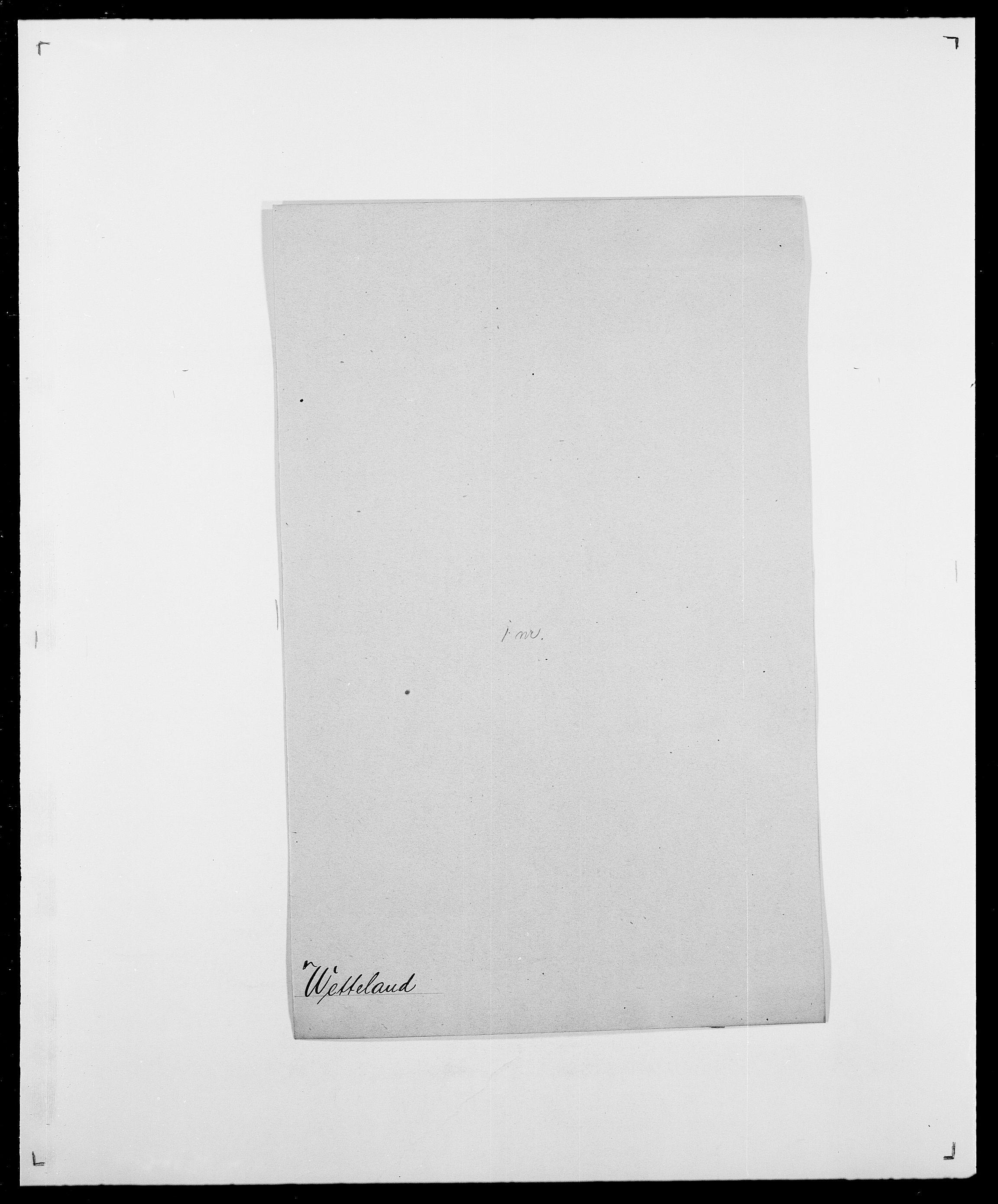 SAO, Delgobe, Charles Antoine - samling, D/Da/L0041: Vemmestad - Viker, s. 343