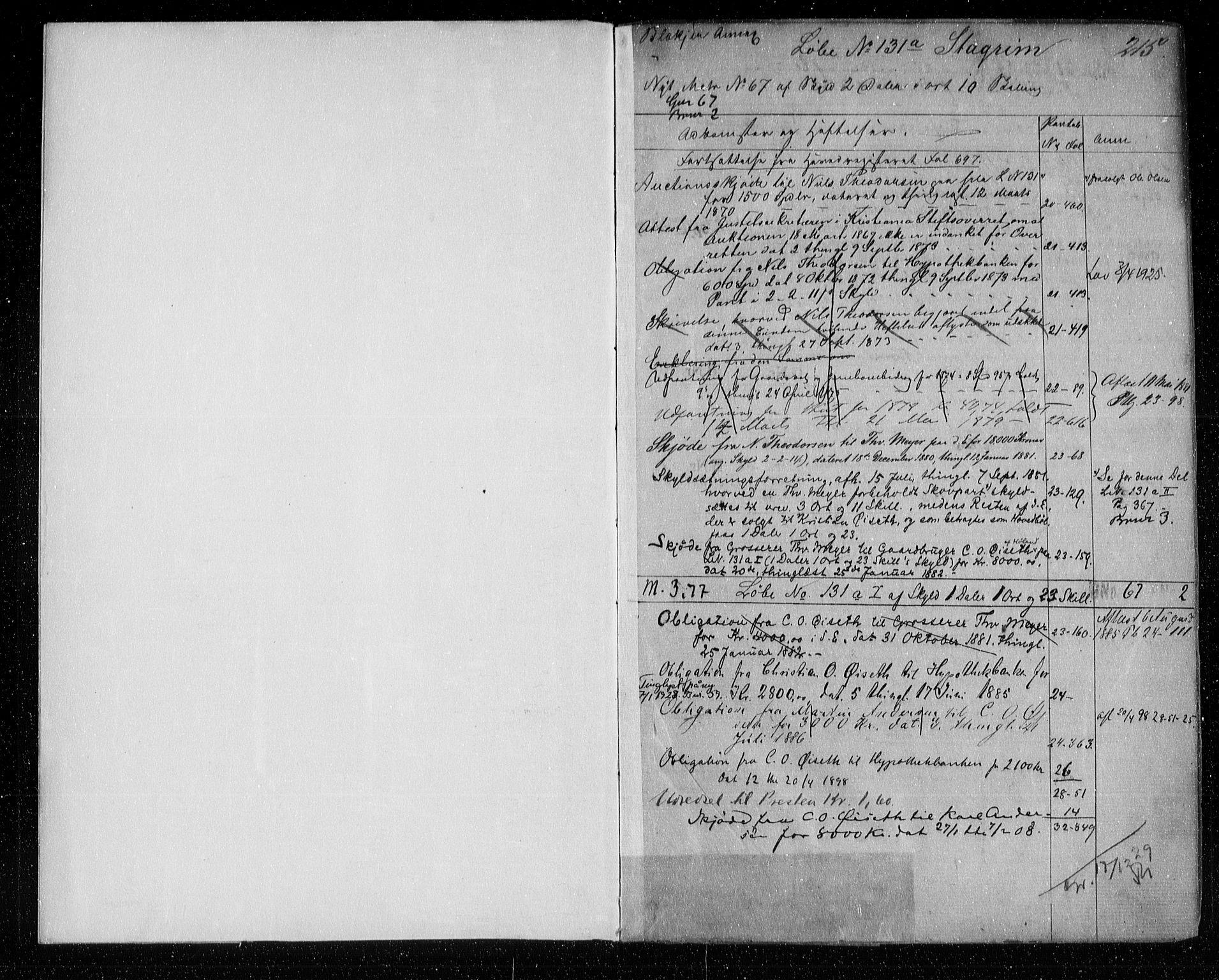 SAO, Nes tingrett, G/Ga/Gab/Gaba/L0013.b: Panteregister nr. I 13b, s. 215