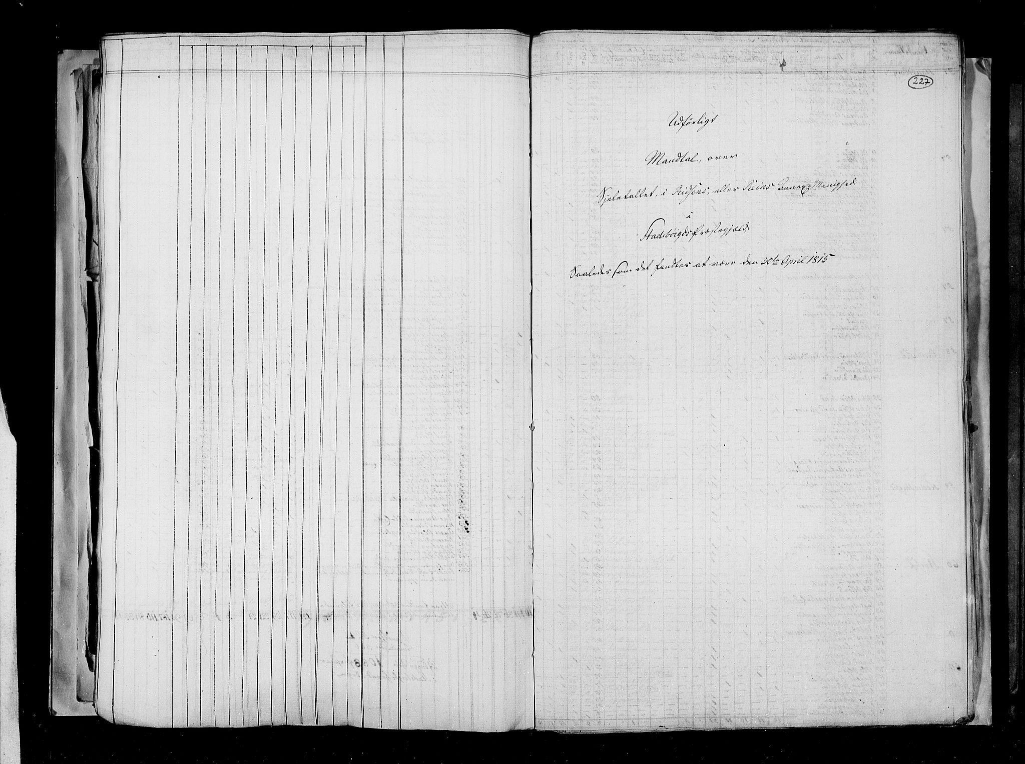 RA, Folketellingen 1815, bind 2: Bergen stift og Trondheim stift, 1815, s. 145