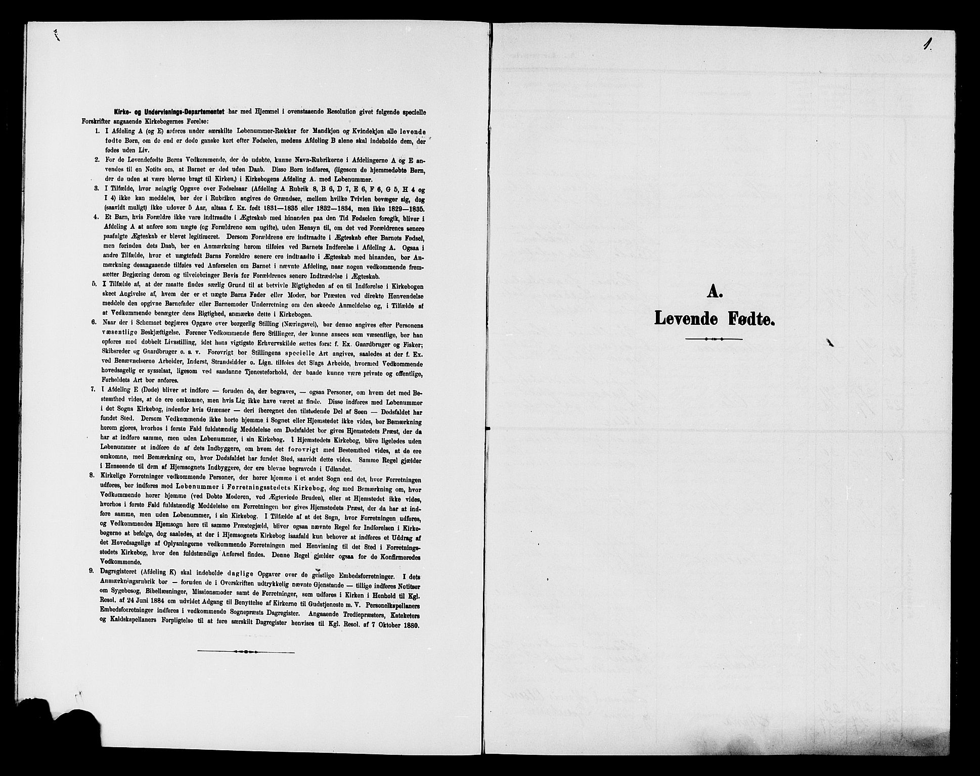 SAH, Søndre Land prestekontor, L/L0005: Klokkerbok nr. 5, 1902-1911, s. 1