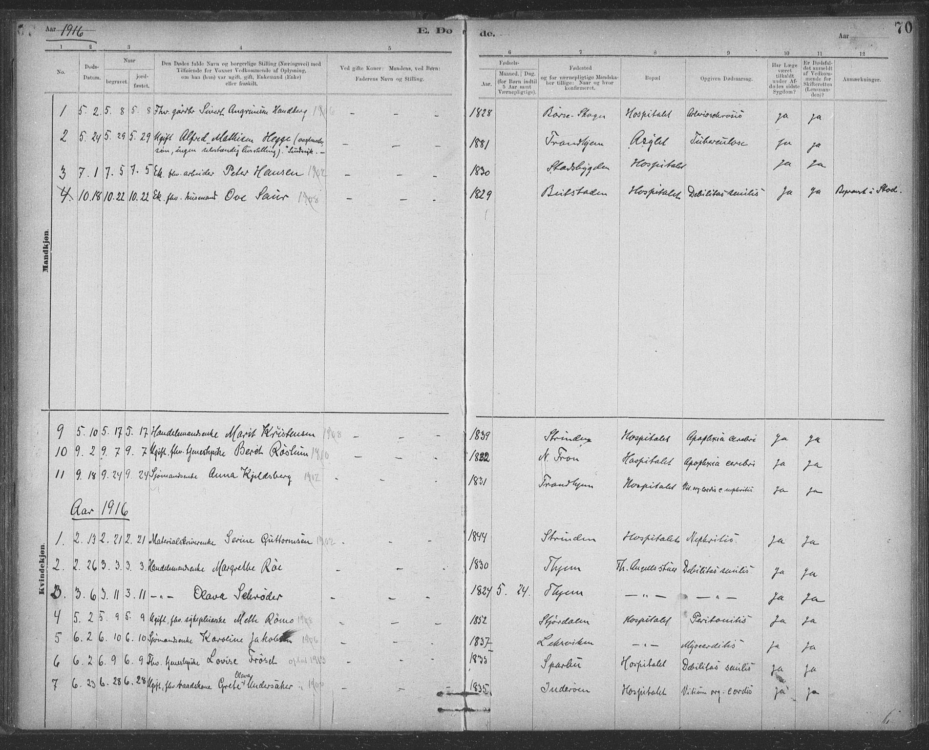 SAT, Ministerialprotokoller, klokkerbøker og fødselsregistre - Sør-Trøndelag, 623/L0470: Ministerialbok nr. 623A04, 1884-1938, s. 70
