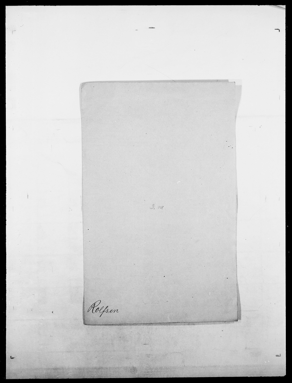 SAO, Delgobe, Charles Antoine - samling, D/Da/L0033: Roald - Røyem, s. 138