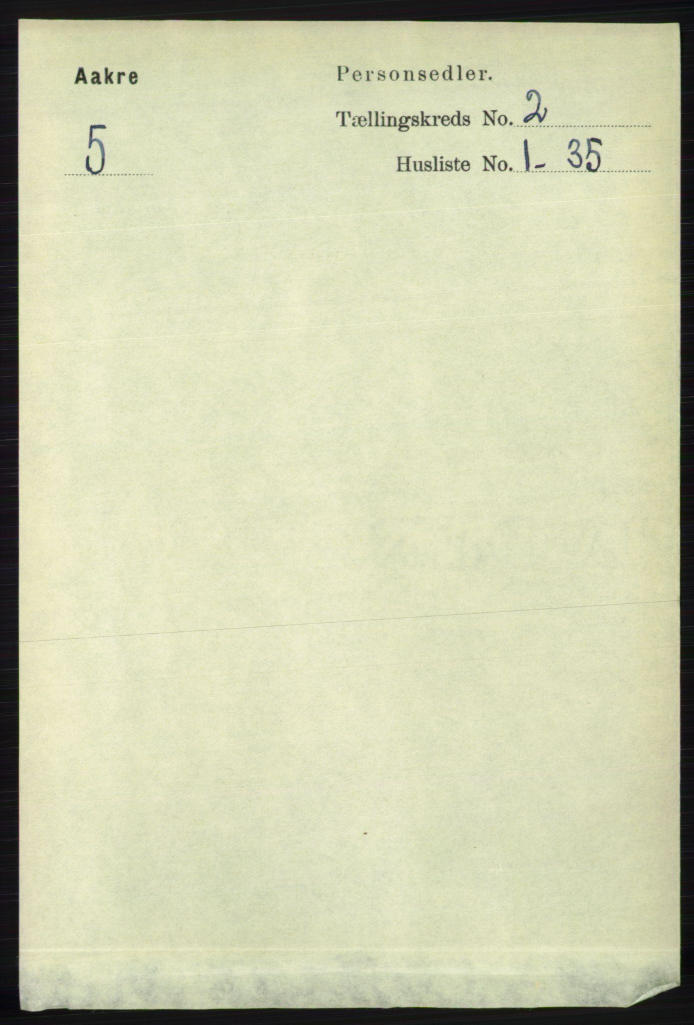 RA, Folketelling 1891 for 1150 Skudenes herred, 1891, s. 3708