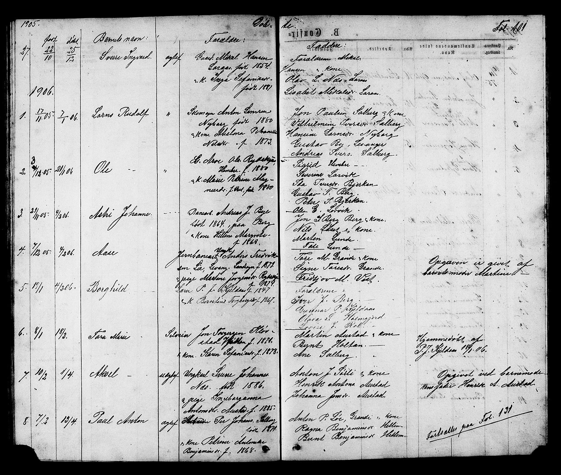 SAT, Ministerialprotokoller, klokkerbøker og fødselsregistre - Nord-Trøndelag, 731/L0311: Klokkerbok nr. 731C02, 1875-1911, s. 101