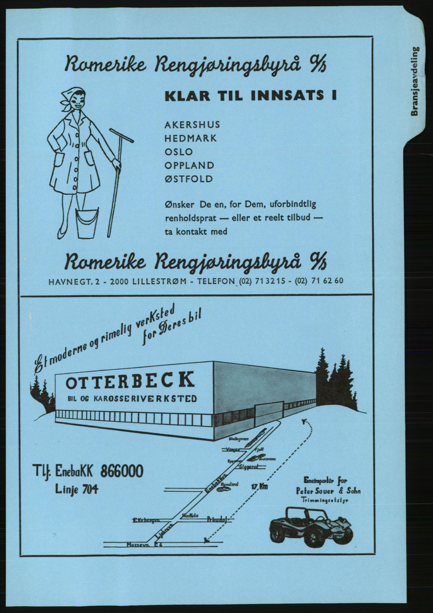 PUBL, Kristiania/Oslo adressebok, 1974-1975